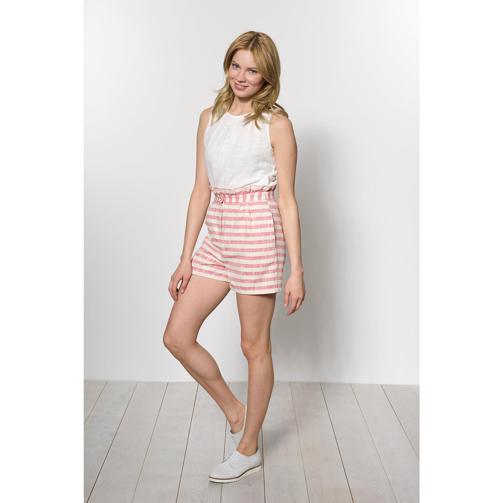 Neu VERO MODA Shorts 5639418 für Damen beige rot beige blau   eBay 437b0b263f