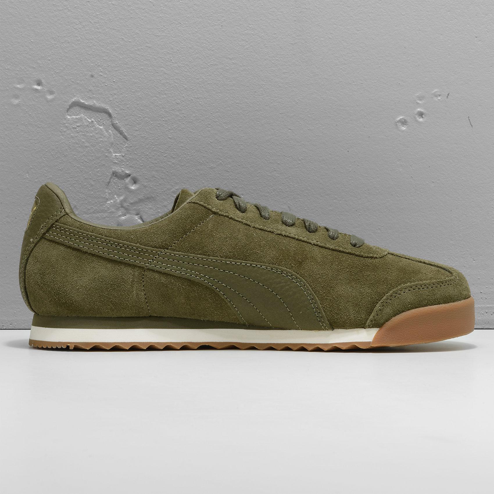 Neu PUMA Roma Natural Warmth Sneakers grün 5776083 für Herren schwarz grün Sneakers b04ee6