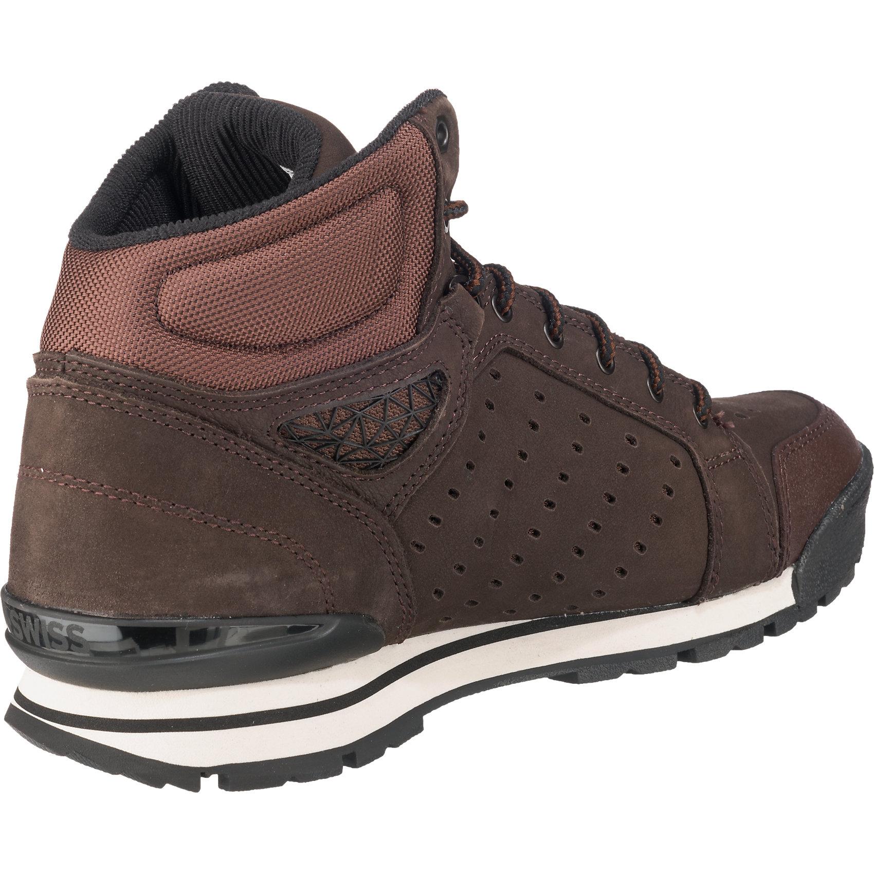 Neu K-SWISS Norfolk Herren Sneakers 5776239 für Herren Norfolk dunkelbraun braun b39ed0