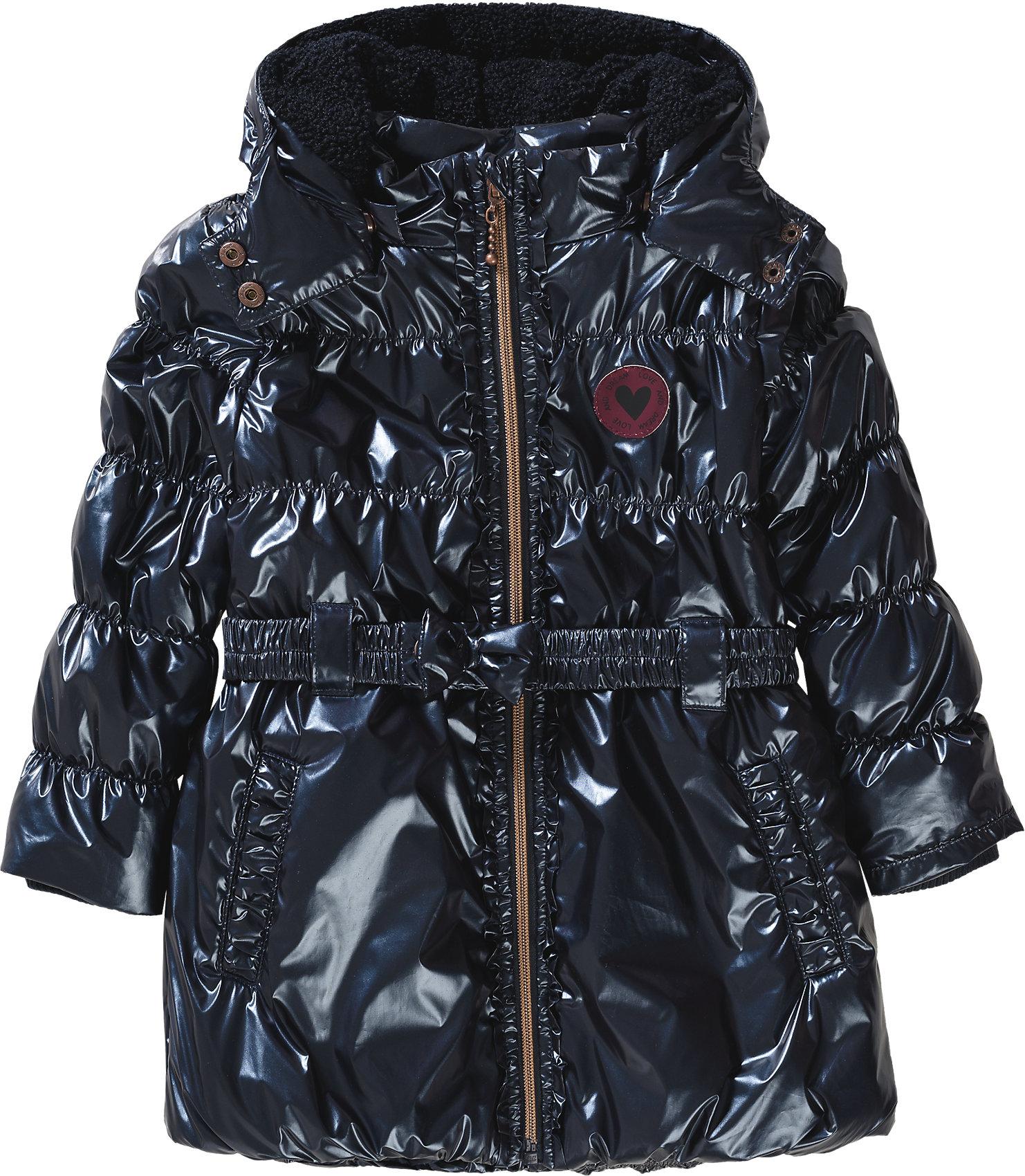 pretty nice 92cfe 0951f Details zu Neu STACCATO Wintermantel für Mädchen 6060642 für Mädchen  dunkelblau