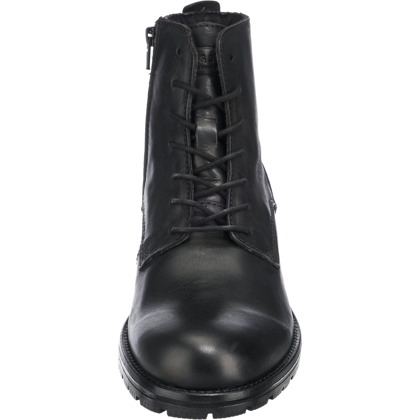 Neu JACK 5777063 & JONES Orca Stiefeletten 5777063 JACK für Herren schwarz 12aaf6