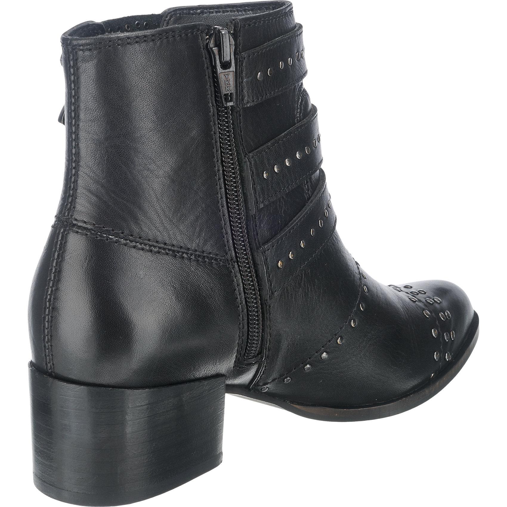 Neu Pepe Jeans Waterloo Rock Biker Boots 5777531 für Damen schwarz ... fa027461c7