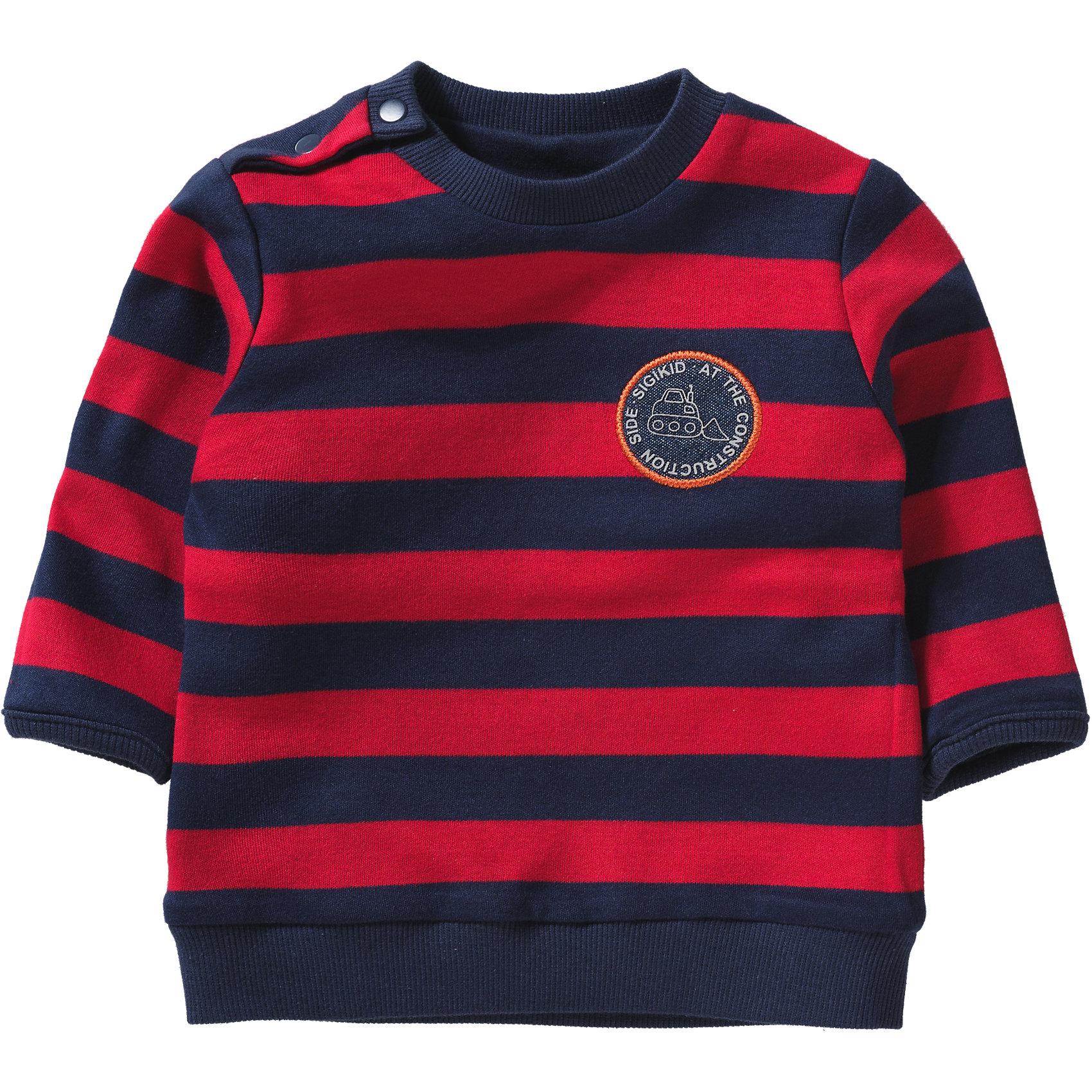 Neu sigikid Baby Sweatshirt zum Wenden für Jungen 6062618 für Jungen ... b6eced3466