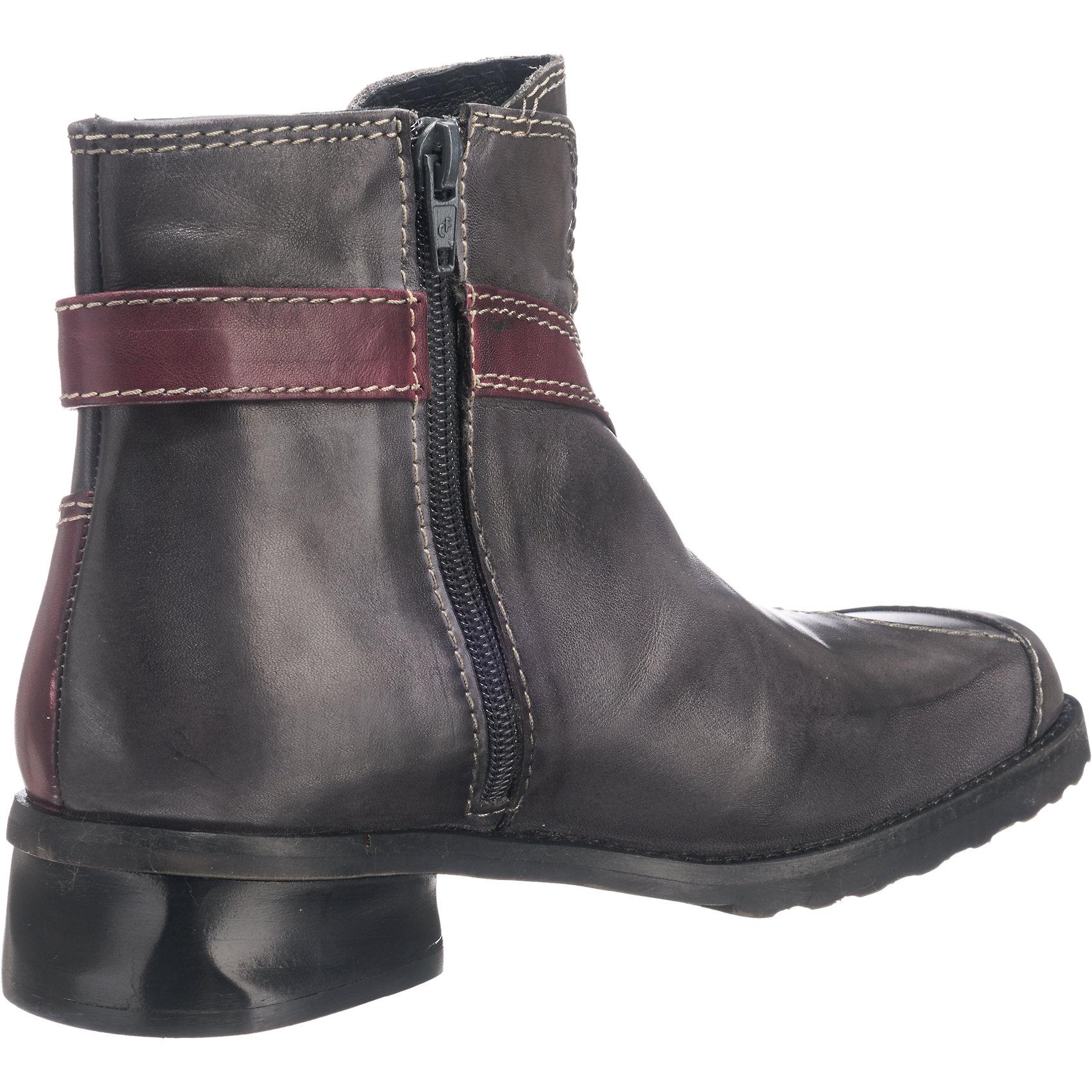 Neu Tiggers® Liese Stiefeletten 5778328 für Damen Damen für grau-kombi 9accdf
