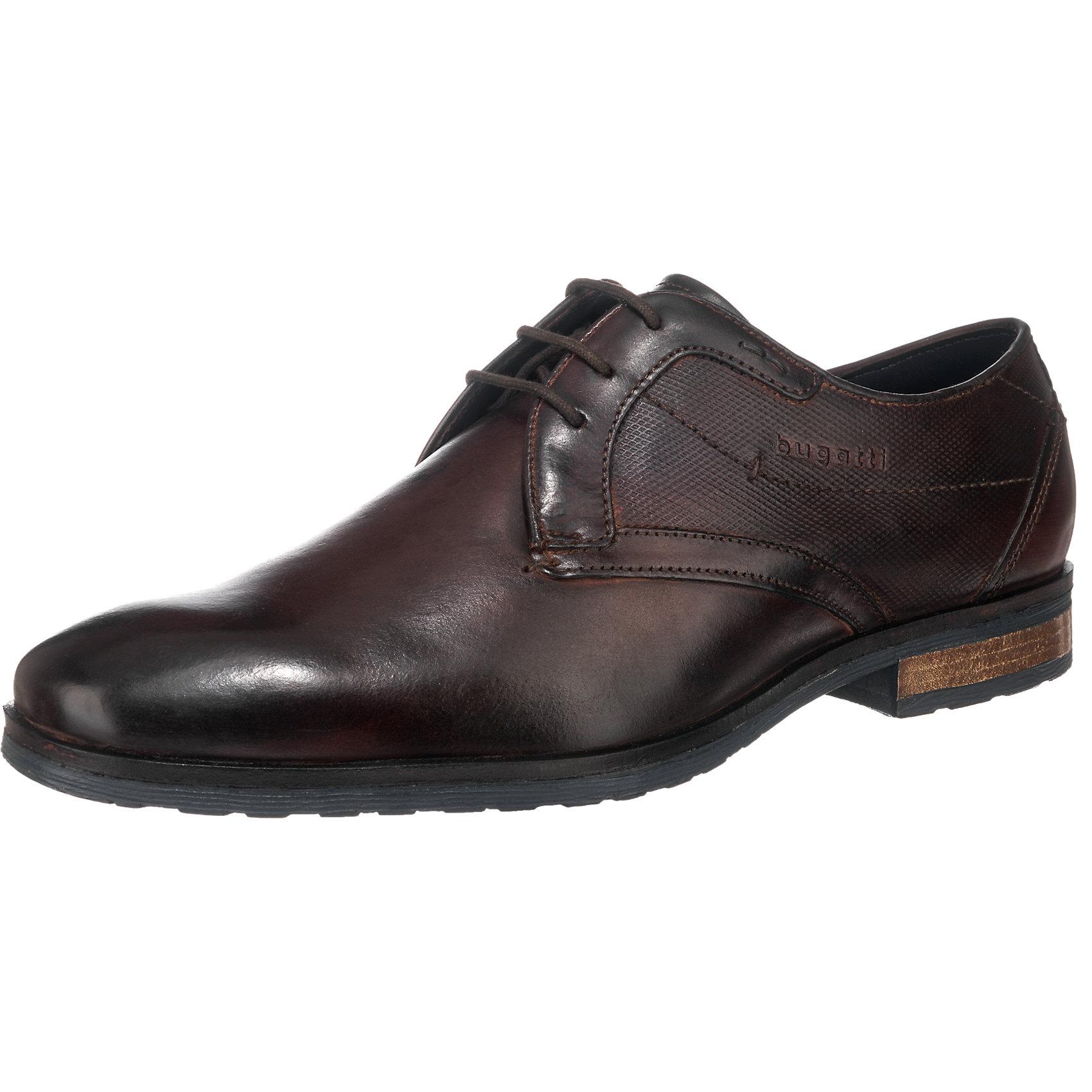 Neu für bugatti Business Schuhe 5779956 für Neu Herren dunkelbraun cognac 62b754