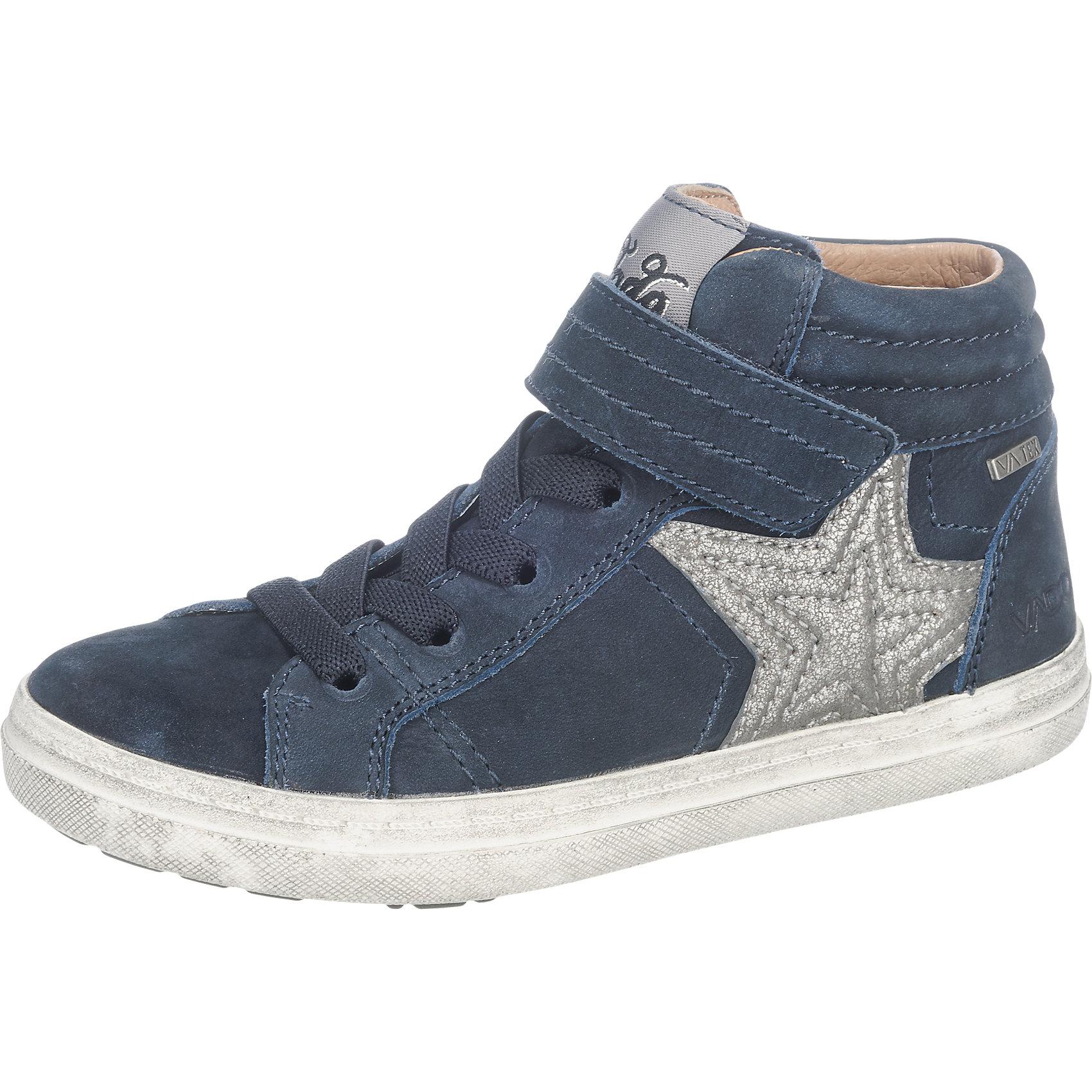 Details zu Neu VADO Sneakers High, TEX, für Mädchen, Stern 6064667 für Herren blau
