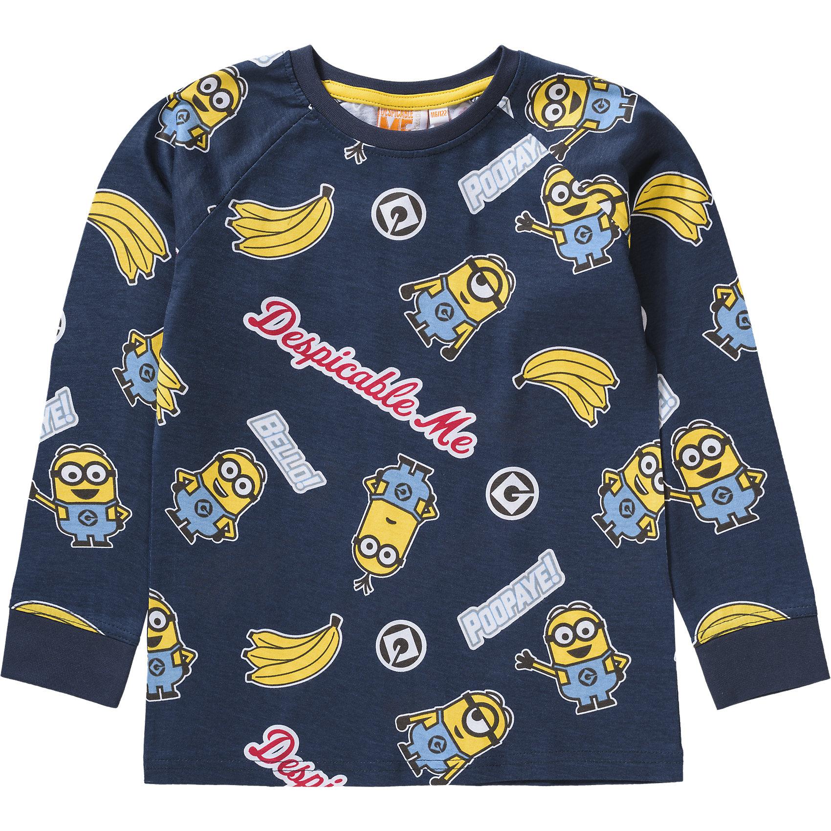 Neu-Minions-Schlafanzug-fuer-Jungen-6064754-fuer-Jungen-blau-grau
