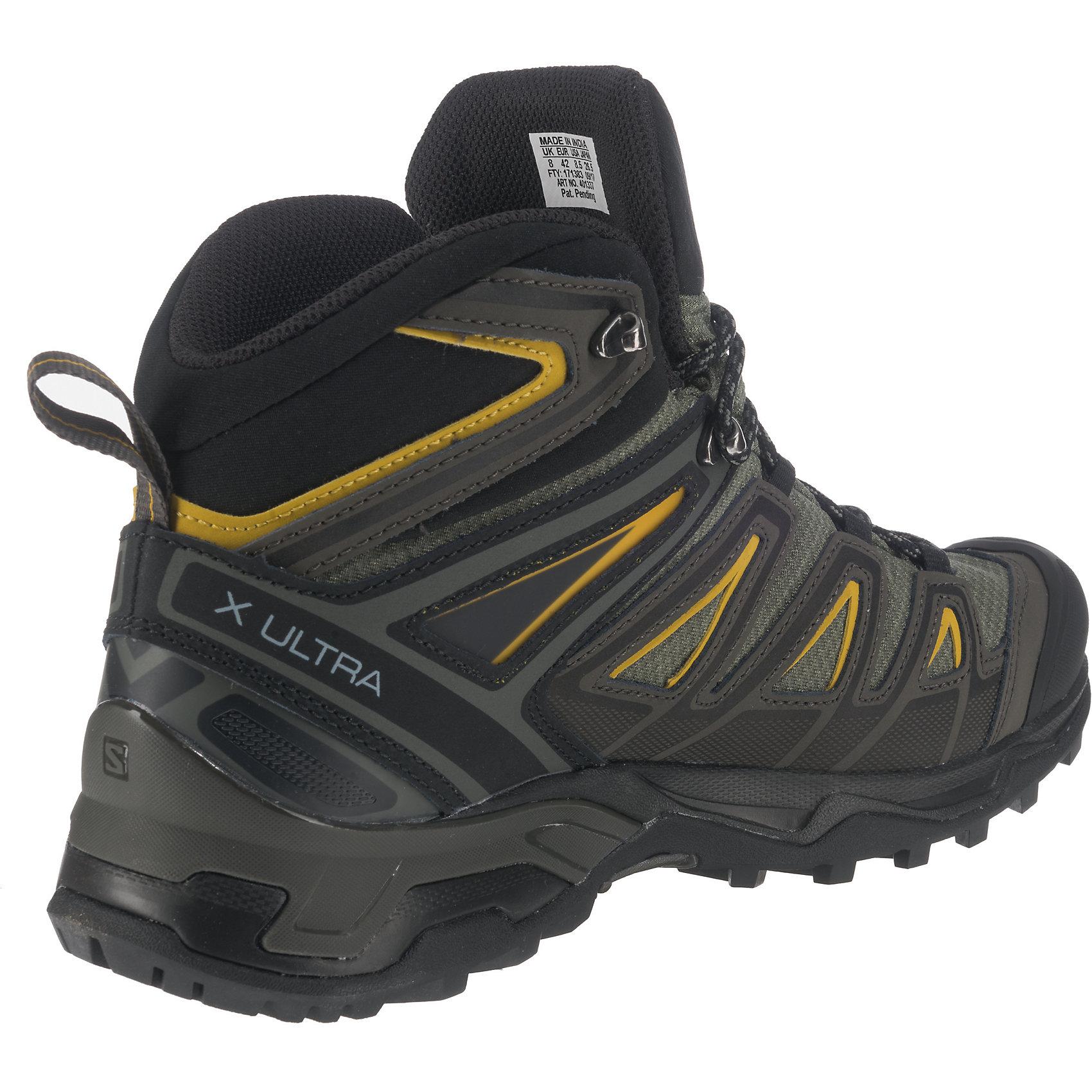 Neu Salomon X Ultra 3 3 3 MID GTX® Castor  Trekkingstiefel 6831815 für Herren 18e403
