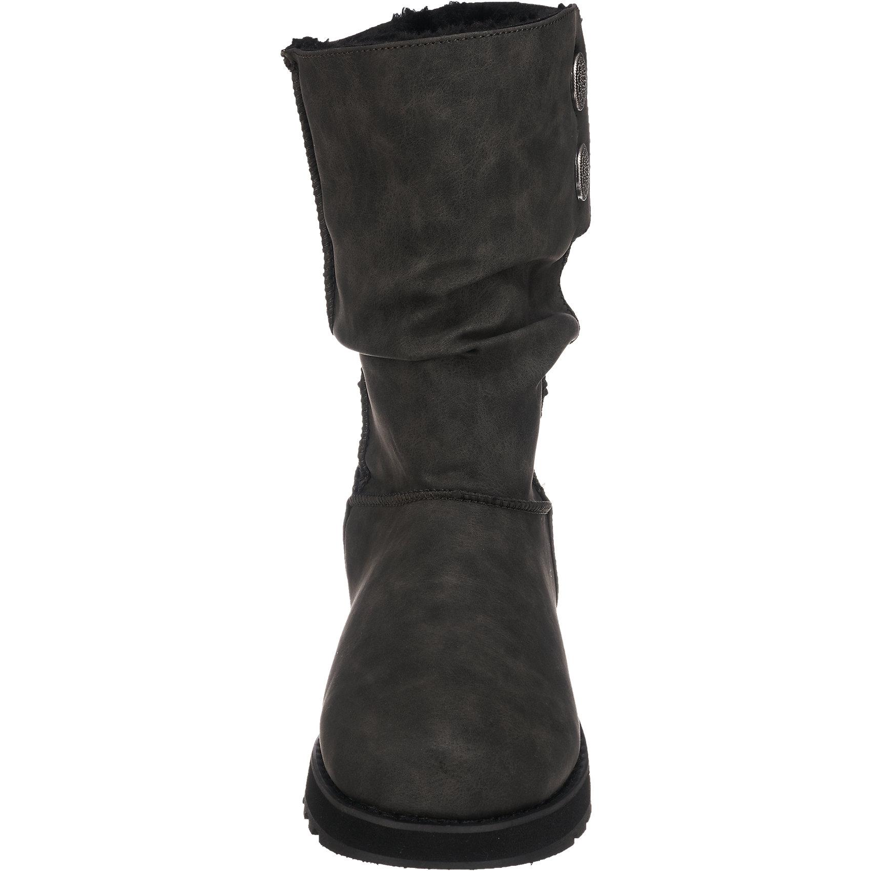 Neu SKECHERS Keepsakes Lederette Stiefel 6836725 Damen für Damen 6836725 grau 267c97