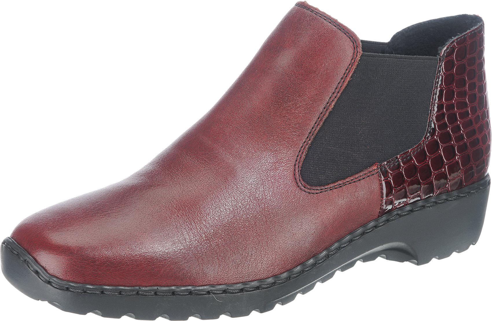 Rieker L5223 05 Stiefel Stiefeletten Boots Damenschuhe rot 36 42 Neu25 | eBay