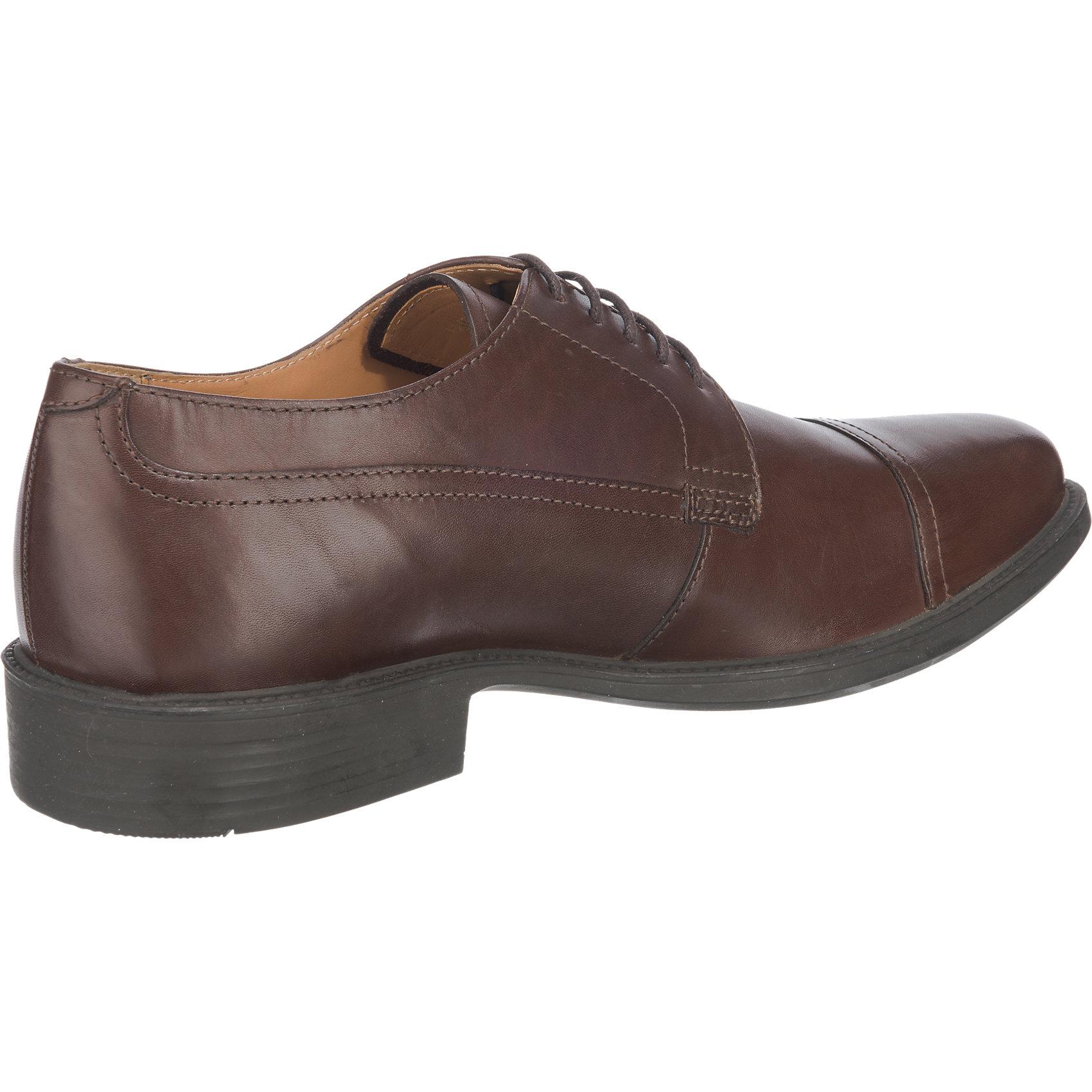 Neu 6845914 GEOX Carnaby Business Schuhe 6845914 Neu für Herren dunkelbraun f8b737