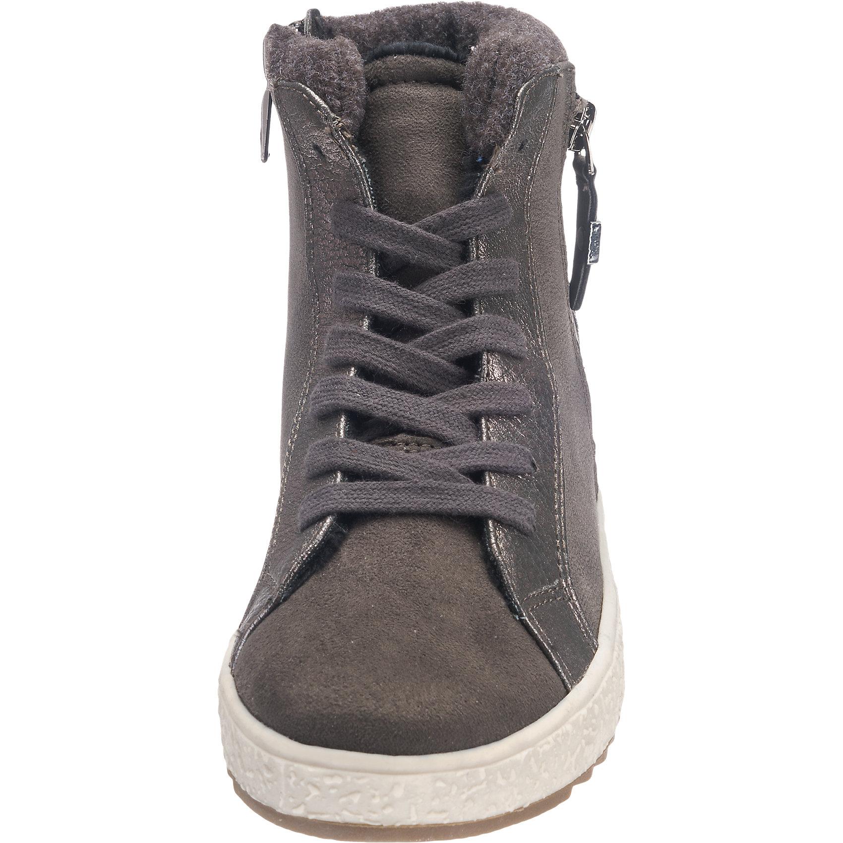 neu tom tailor sneakers 6862991 f r damen grau ebay. Black Bedroom Furniture Sets. Home Design Ideas
