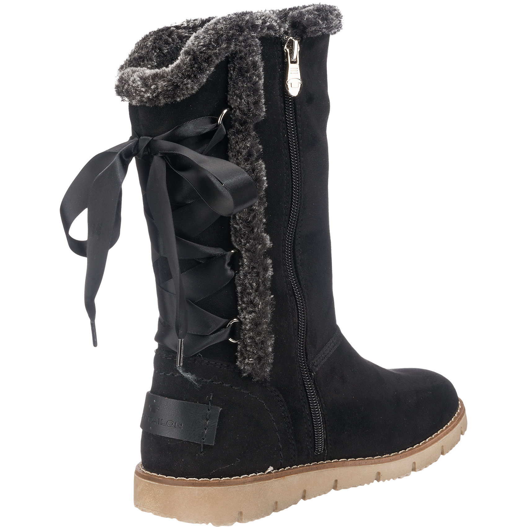 Neu TOM TBILOR Stiefel 6863008 für Damen schwarz