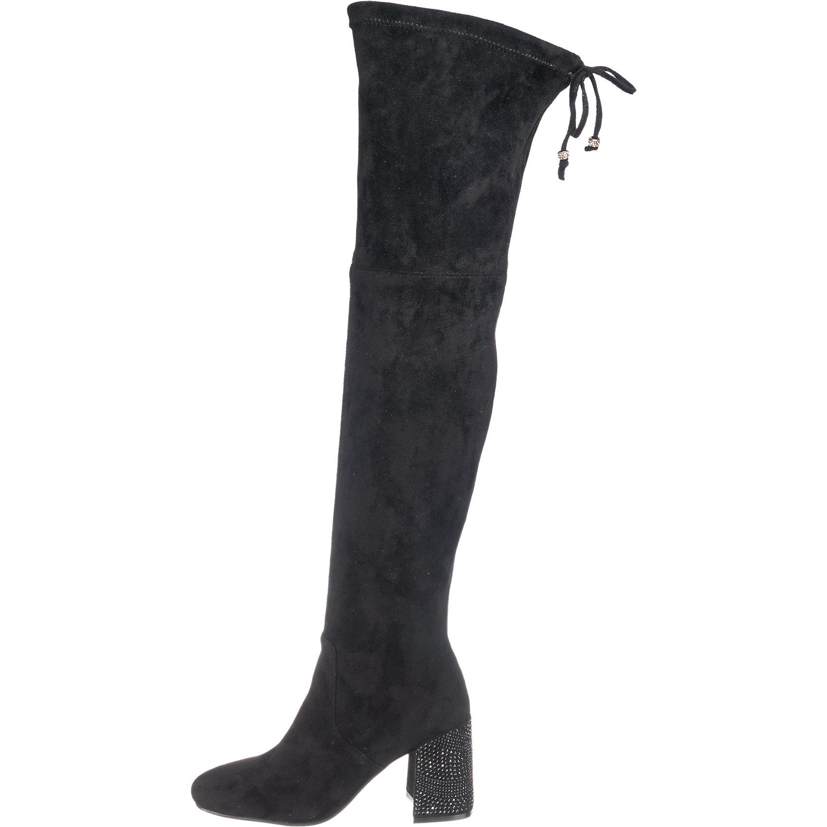 Neu Alma en Pena Stiefel 6894192 für Damen schwarz