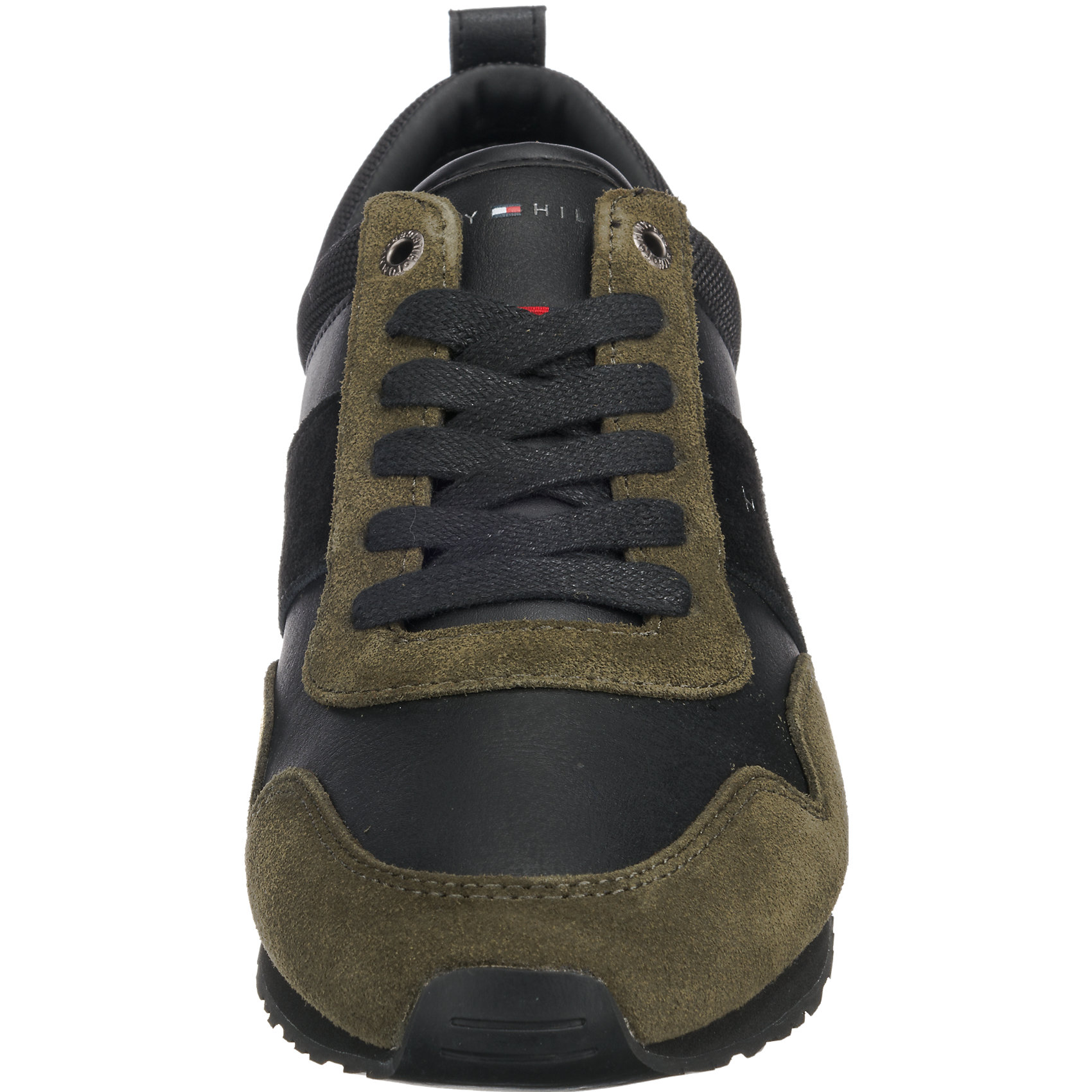 Neu TOMMY HILFIGER Maxwell Sneakers 6961059 für Herren grün-kombi