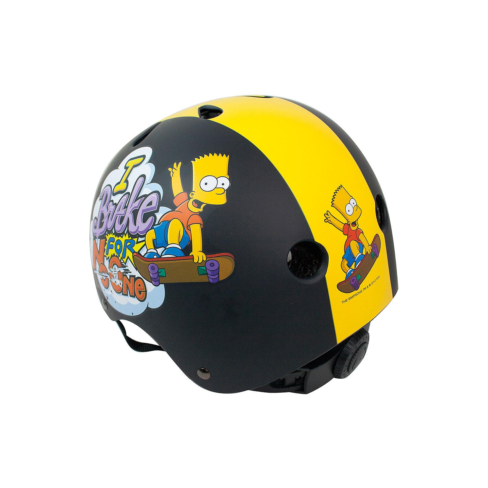 Neu Simpsons Bart Bart Bart Fahrradhelm Gr. 48-54 cm schwarz 6970146 schwarz c24fe6