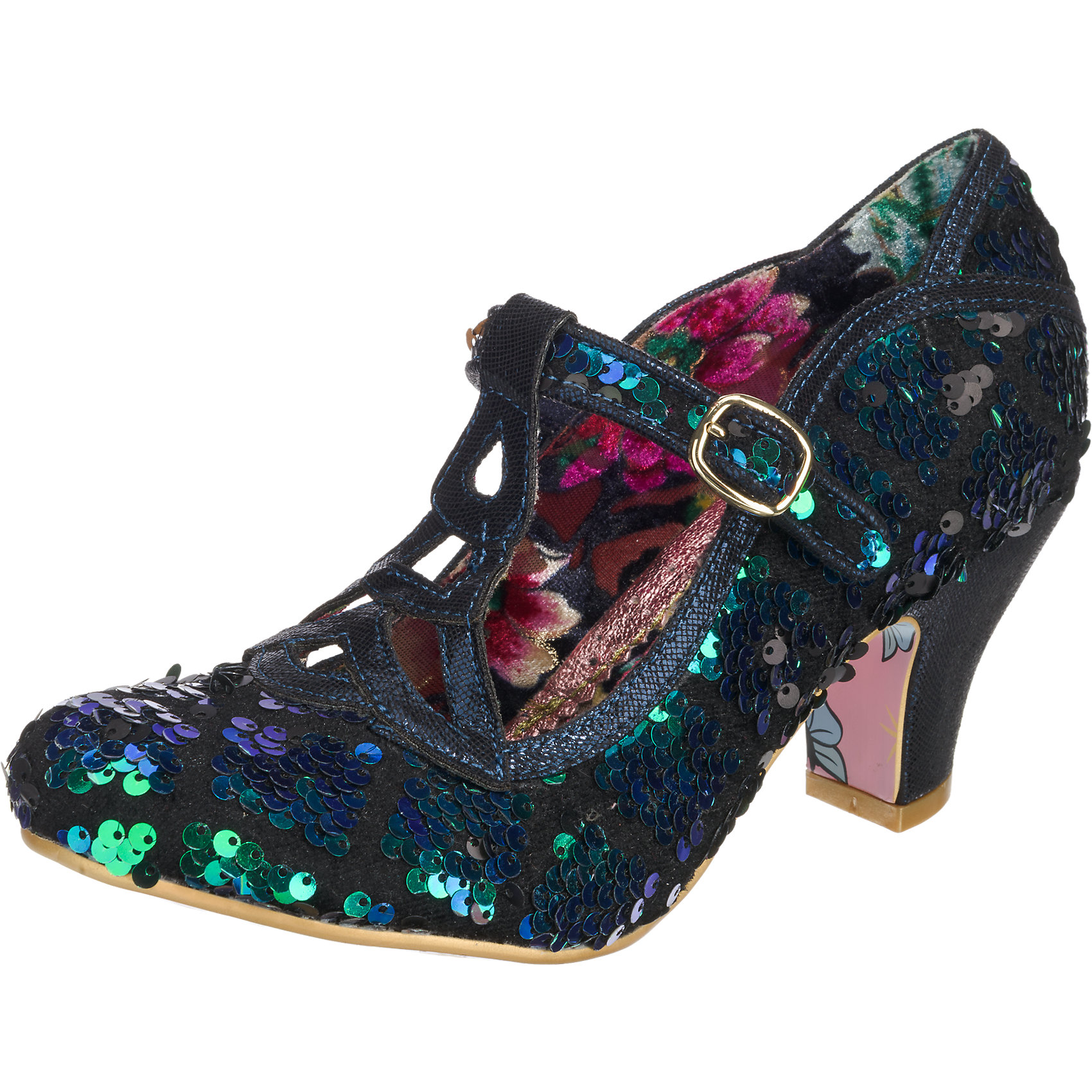 Neu Irregular Choice Nicely Done Done Done Pumps 5753544 für Damen grün-kombi 7b8288