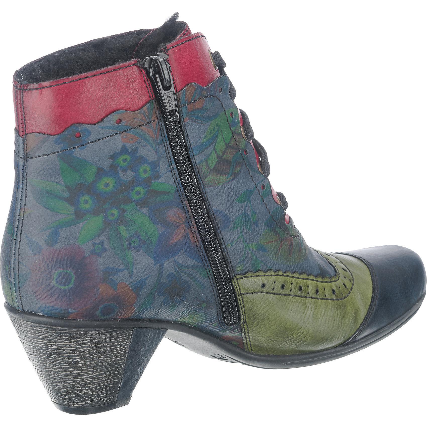 Neu für rieker Stiefeletten 6995715 für Neu Damen mehrfarbig f71d3f