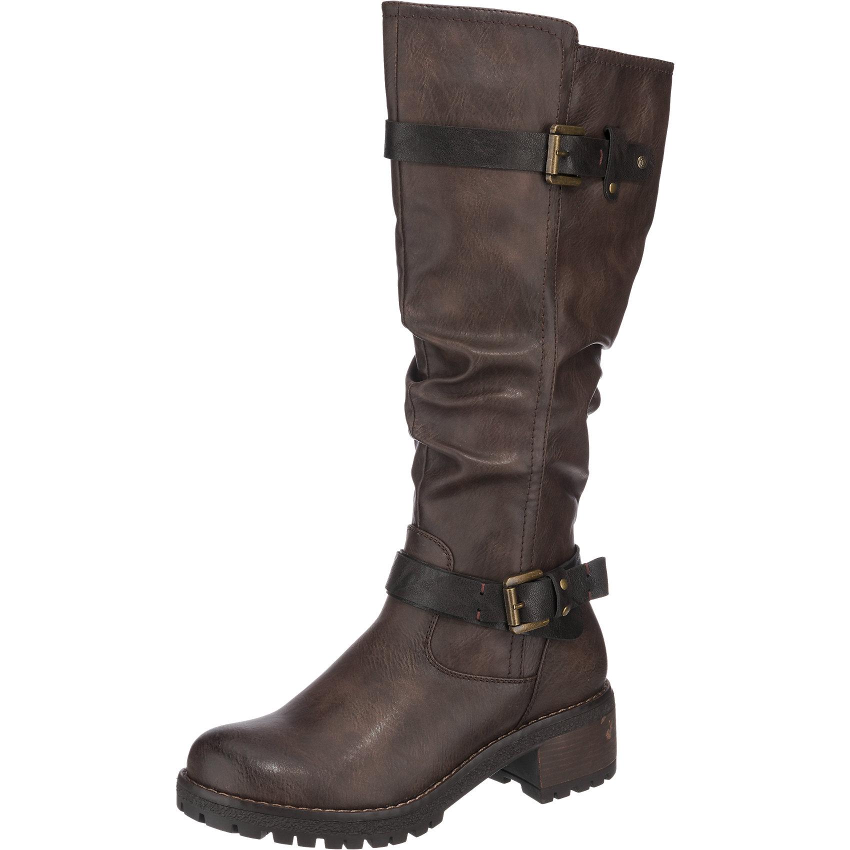 Neu H.I.S. Stiefel 7020457 für Damen schwarz braun