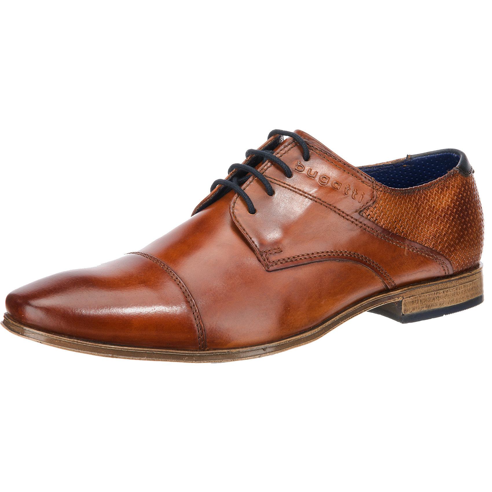 7029349 Für Cognac Zu Details Neu Business Schuhe Herren Bugatti fyY7b6g