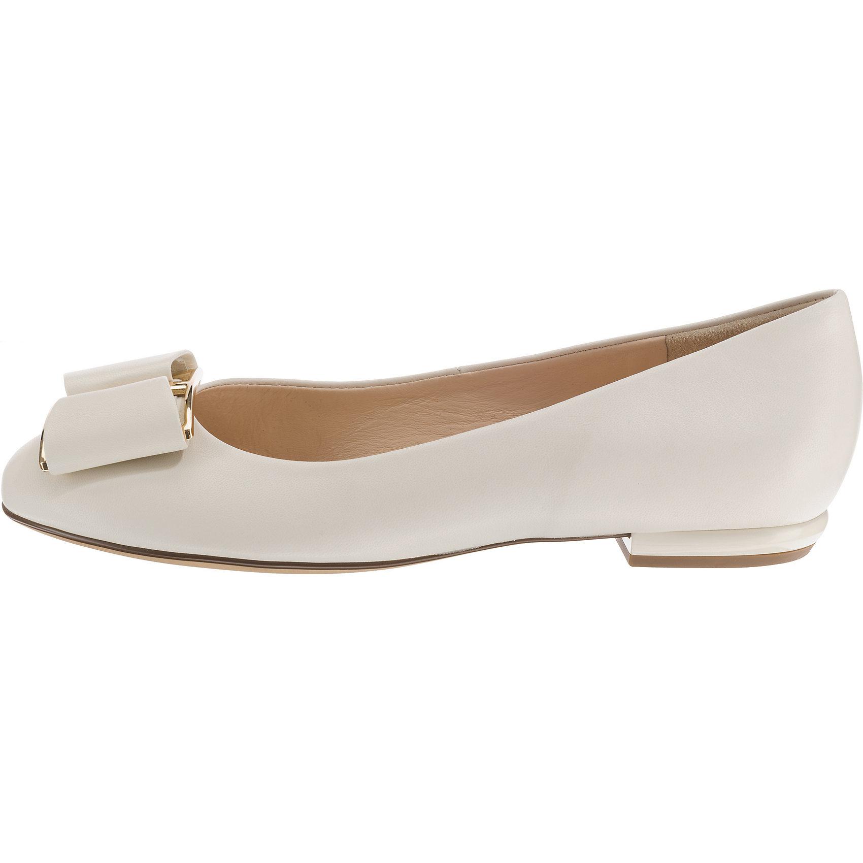 Neu högl Klassische Ballerinas 7146427 für Damen weiß
