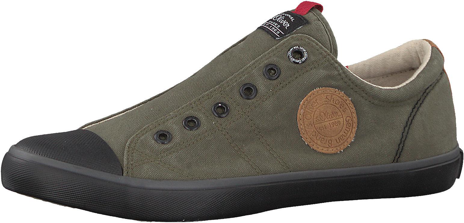 quality design 675d5 fef65 Details zu Neu s.Oliver Slip-On-Sneaker 7152637 für Herren khaki