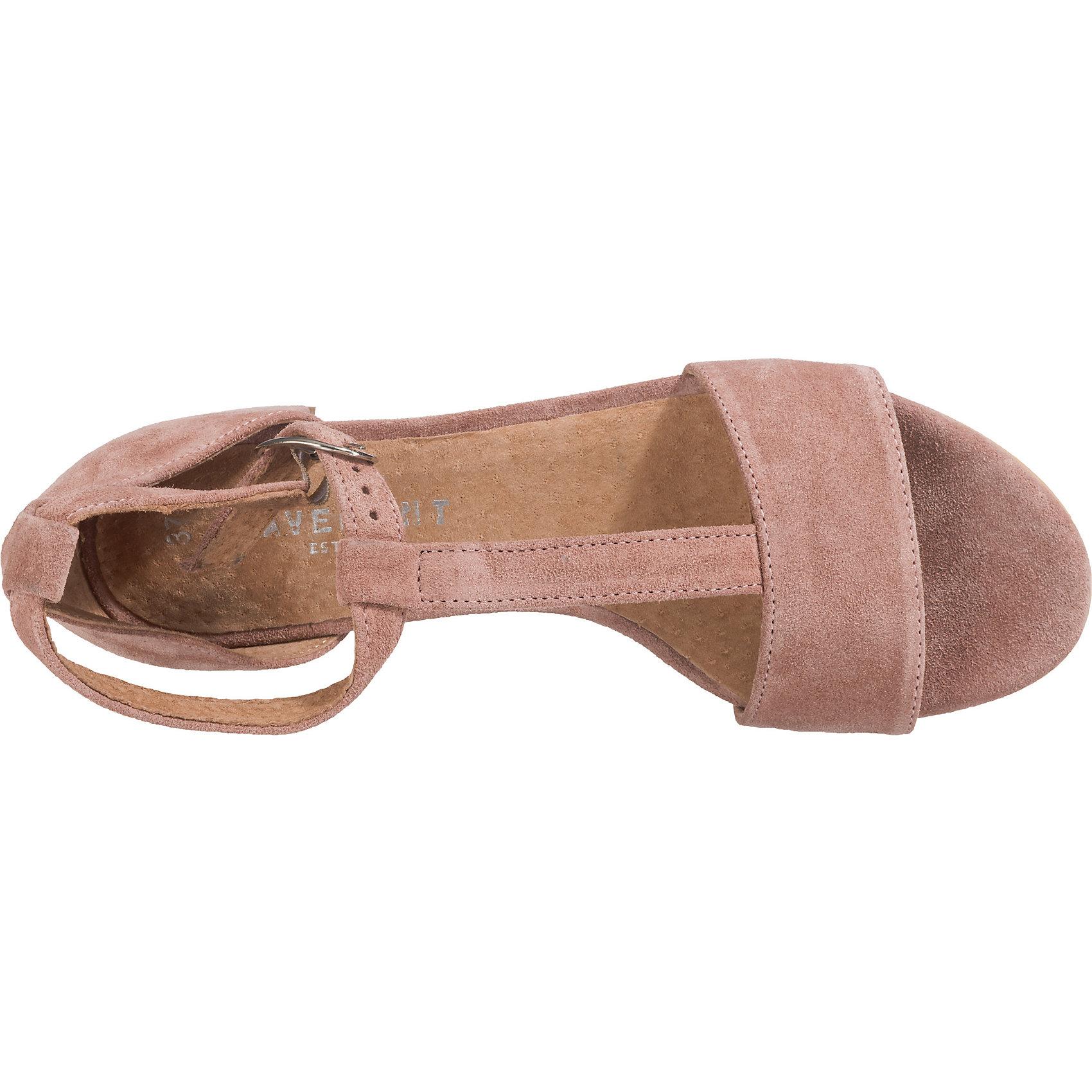 Neu Pavement Alexa T-Steg-Sandaleetten 7154288 für Damen schwarz rosa