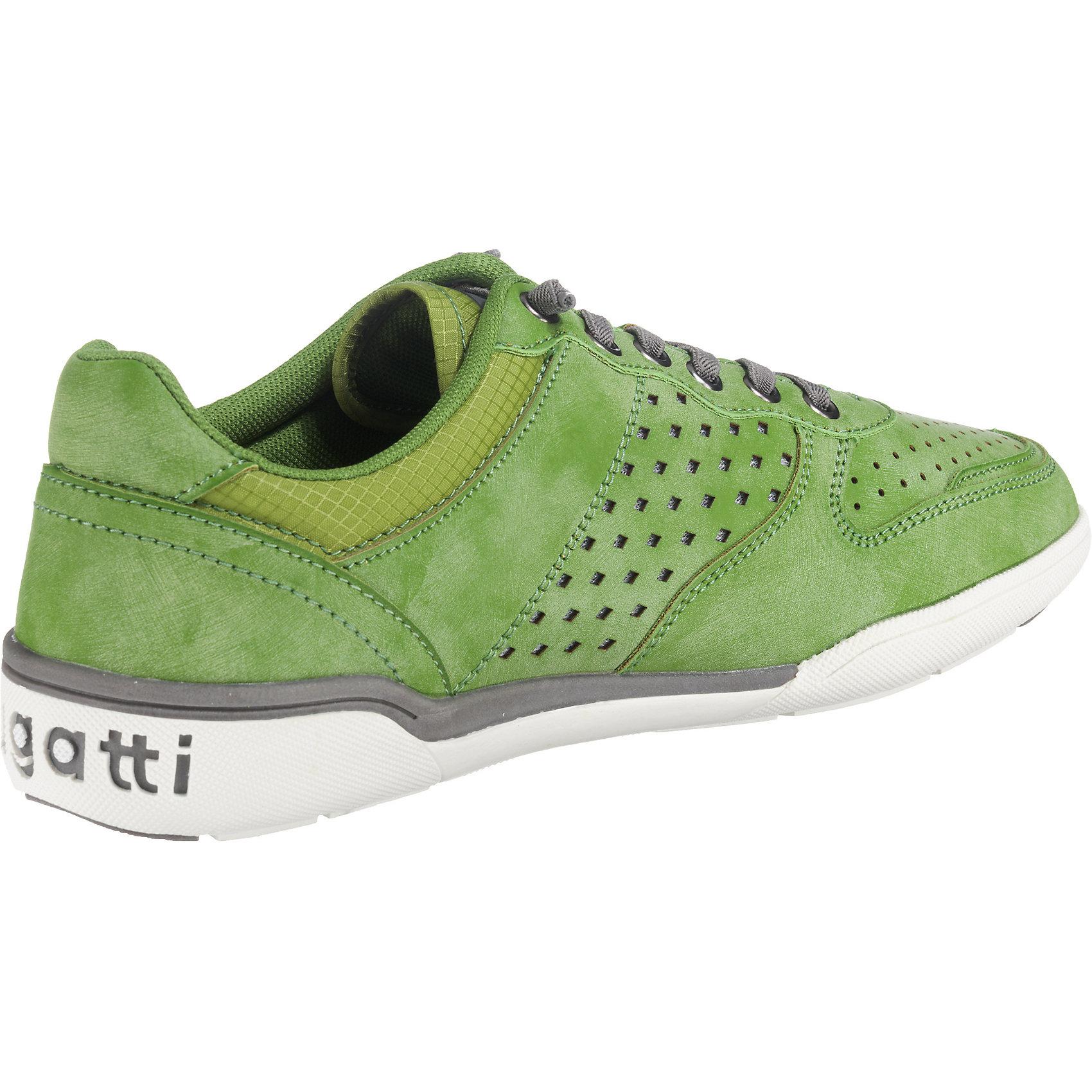 ... Neu bugatti Herren Sneakers Low 7155172 für Herren bugatti grün da98c1  ... 419d90a529