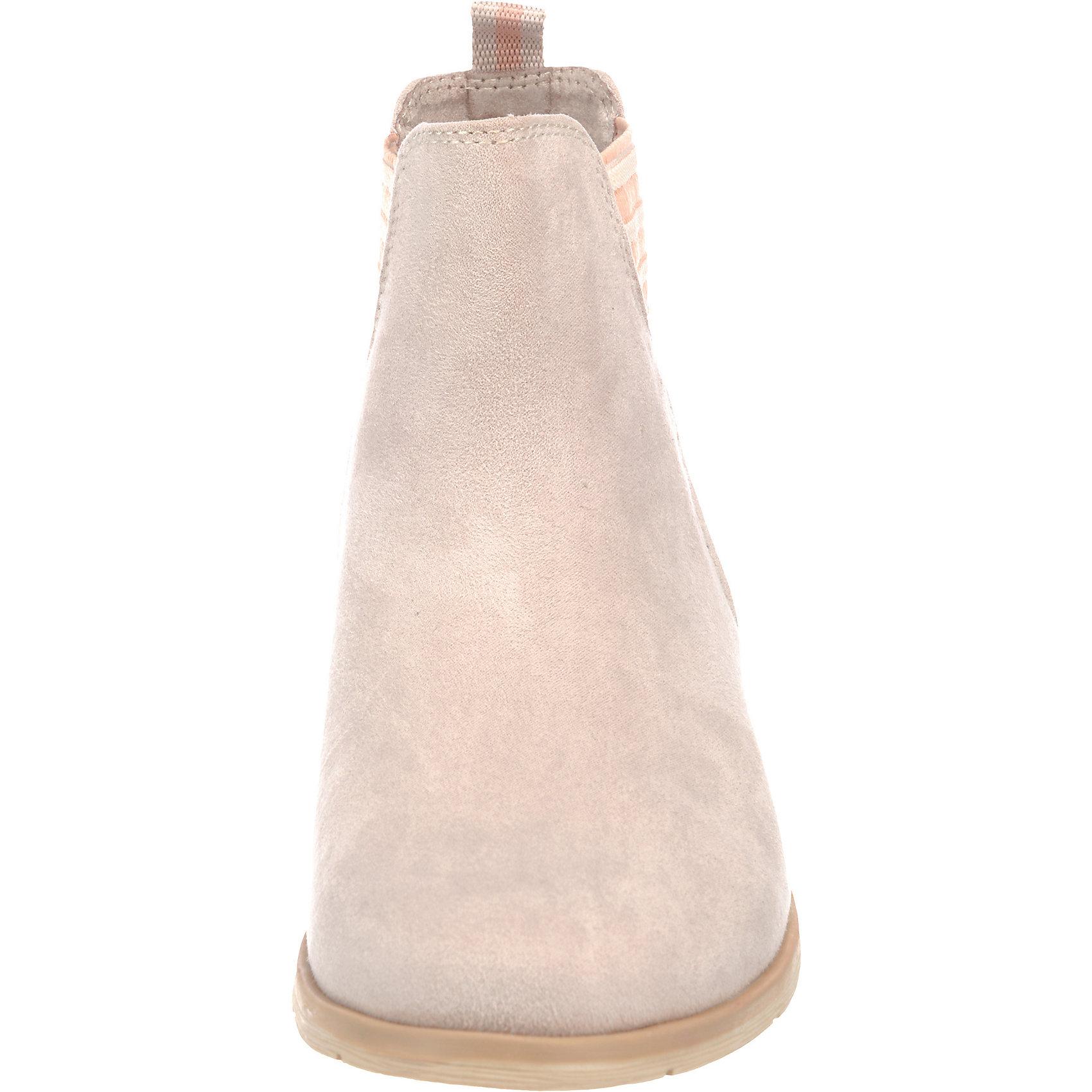 neu marco tozzi chelsea boots 7207022 f r damen beige. Black Bedroom Furniture Sets. Home Design Ideas