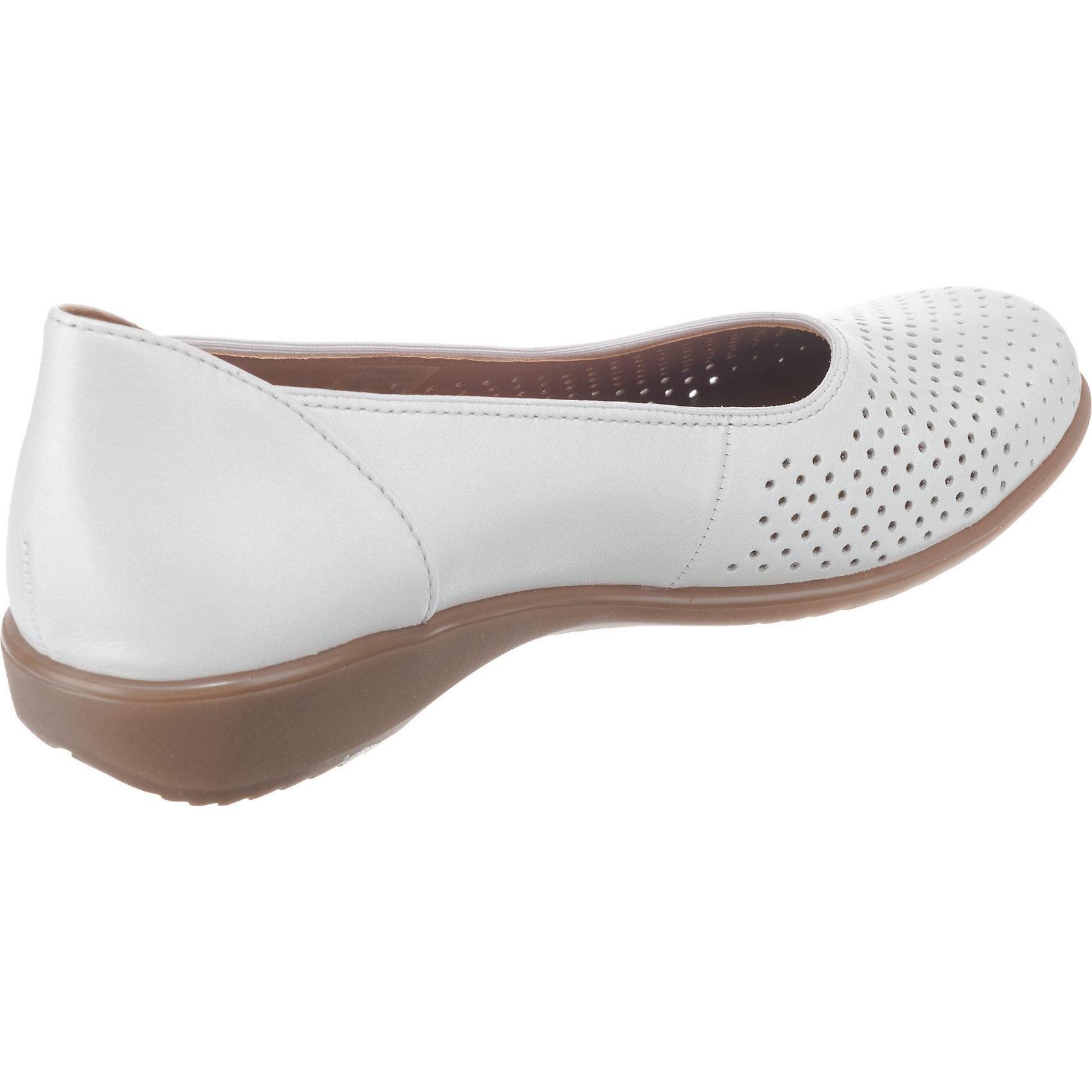Neu für ara Andros-Tr Komfort-Ballerinas 7208595 für Neu Damen weiß 9304f2