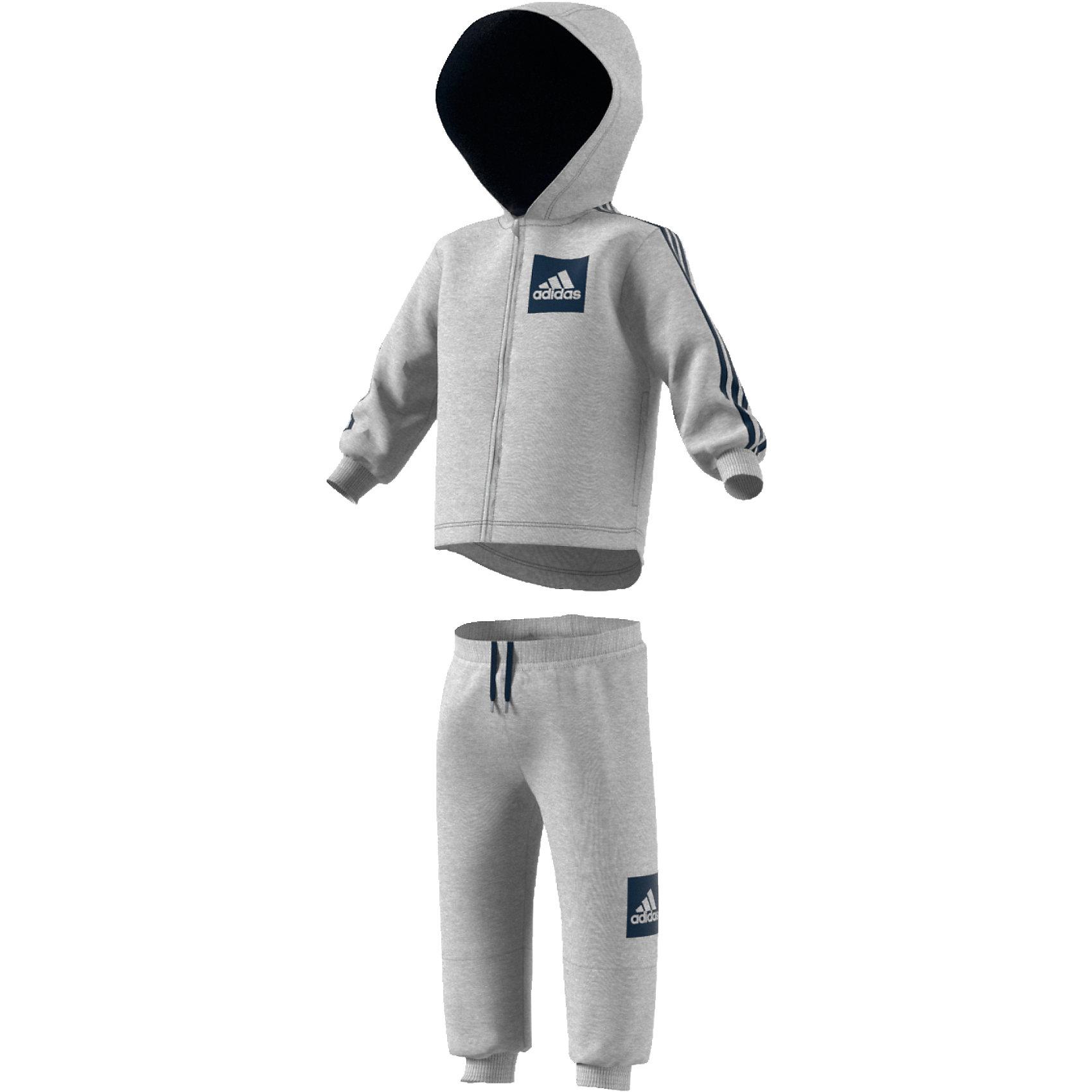 Details zu Neu adidas Performance Baby Jogginganzug aus Fleece für Mädchen 7219388