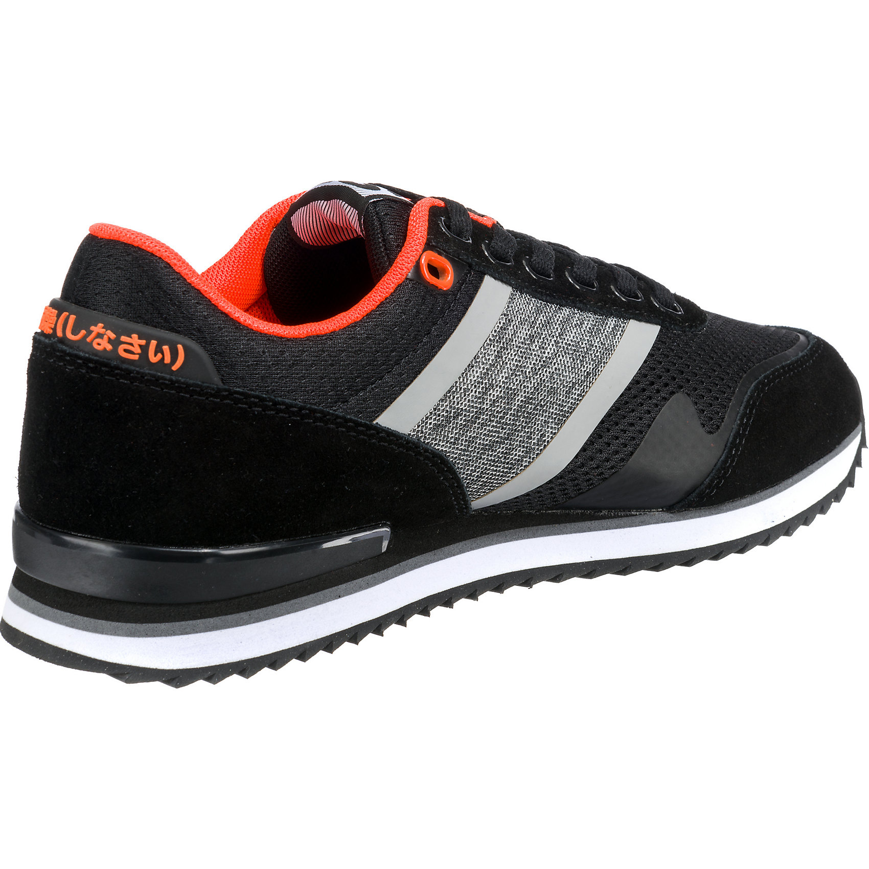 FERO RUNNER - Sneaker low - black/orange Z9Pna