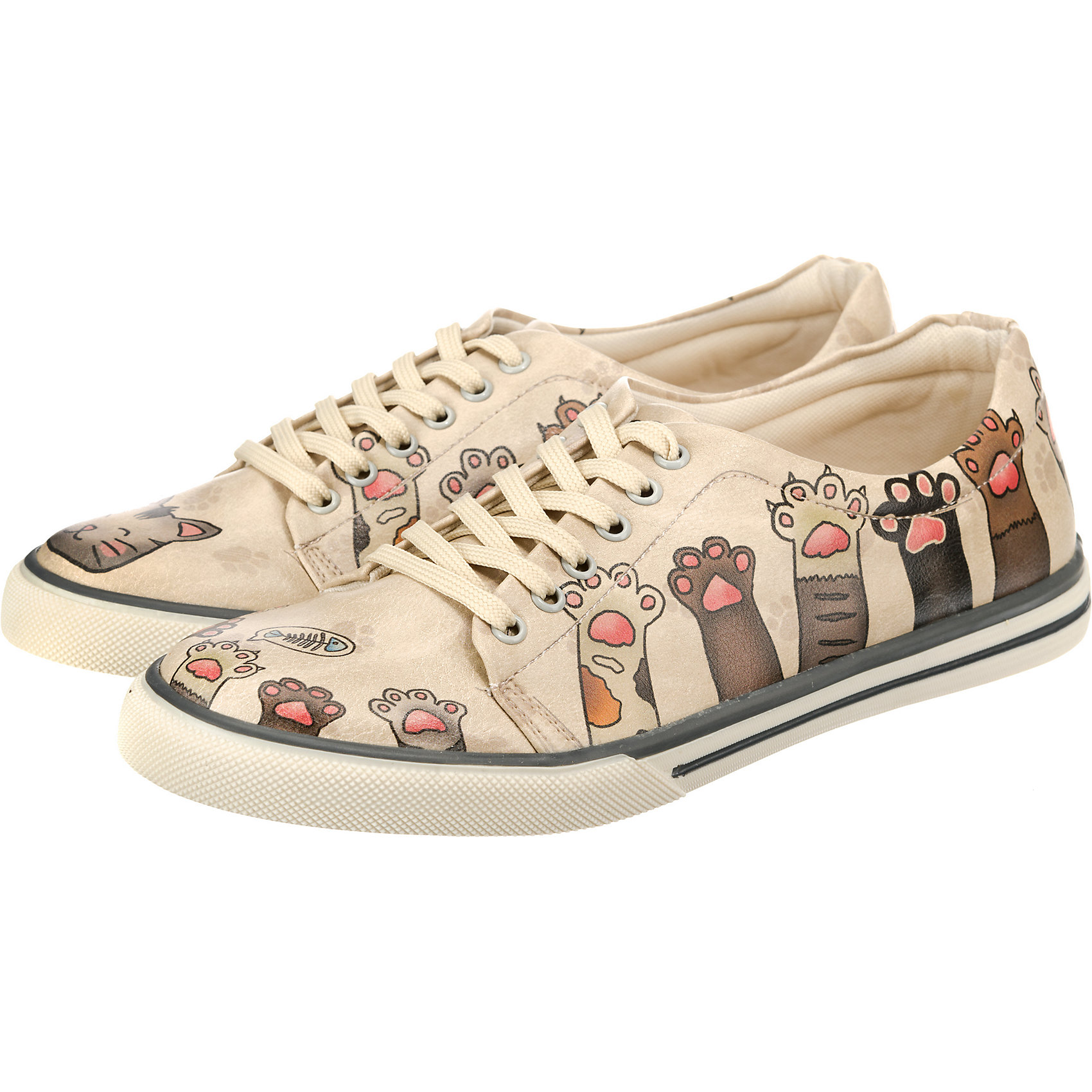 3430a60114 Neu Dogo Shoes Yummy Sneakers Low 7338985 für Damen mehrfarbig | eBay