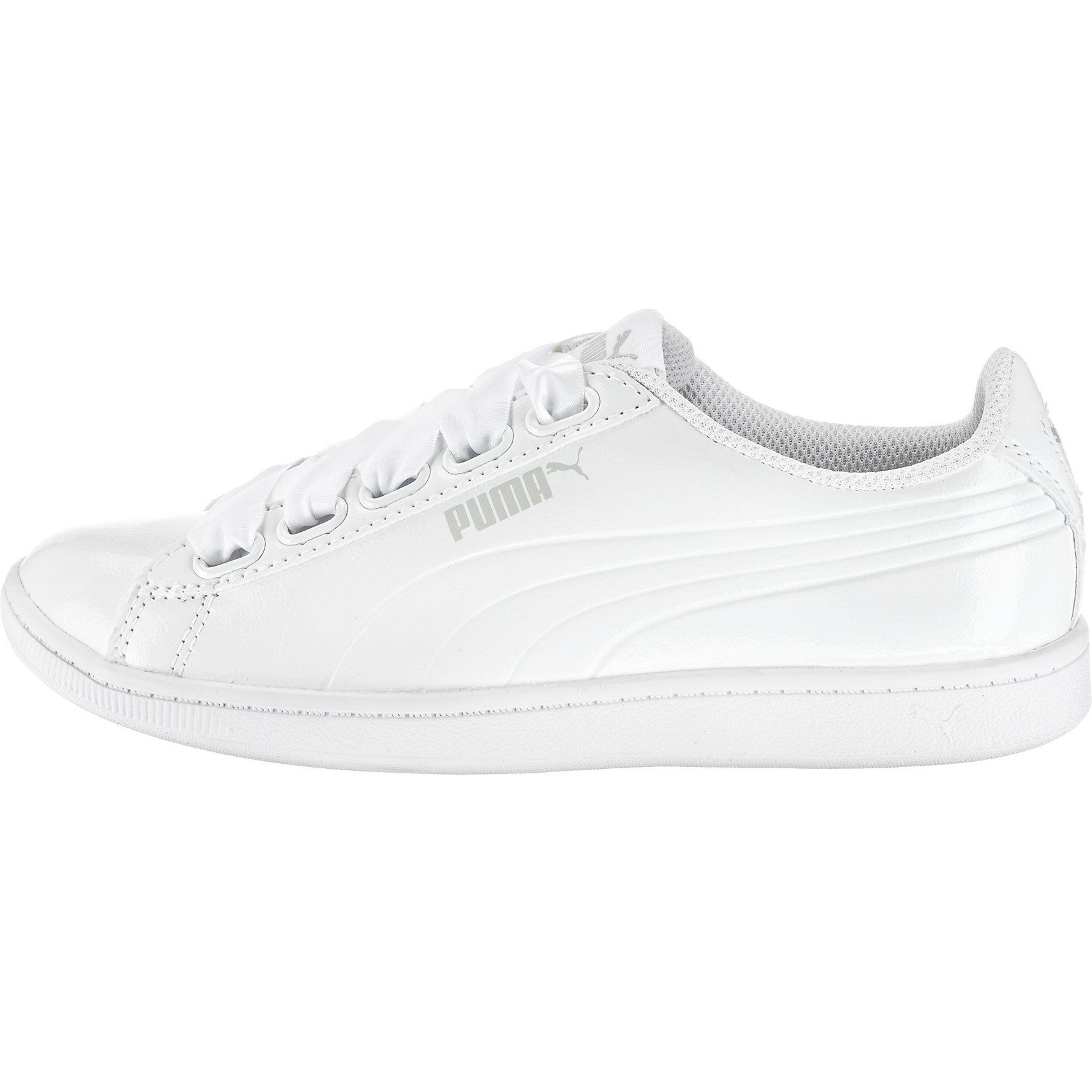 Neu Sneakers PUMA Vikky Ribbon P Sneakers Neu Low 7348668 für Damen weiß 66104a