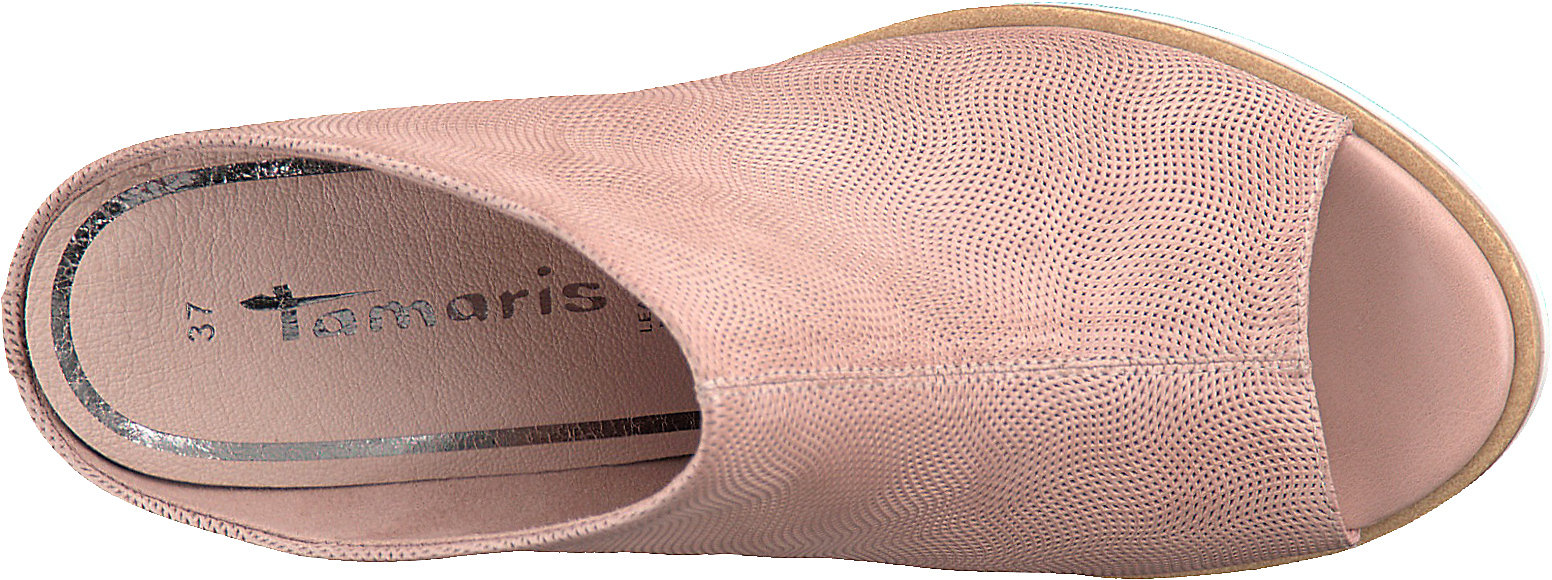 low priced 797b8 6dab1 Details zu Neu Tamaris Clogs 7346494 für Damen rosa