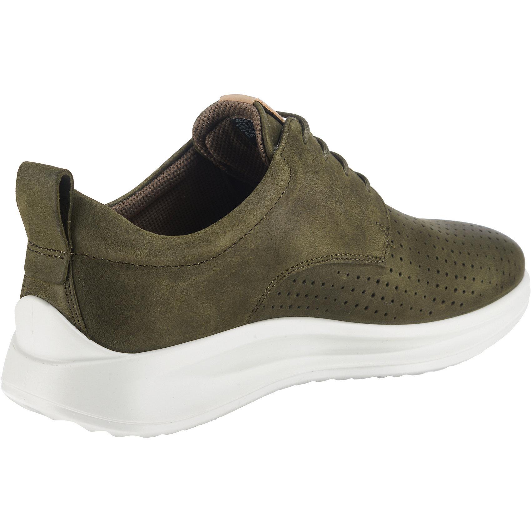 Neu ecco Aquet Sneakers Low khaki 7572062 für Herren khaki Low b32542