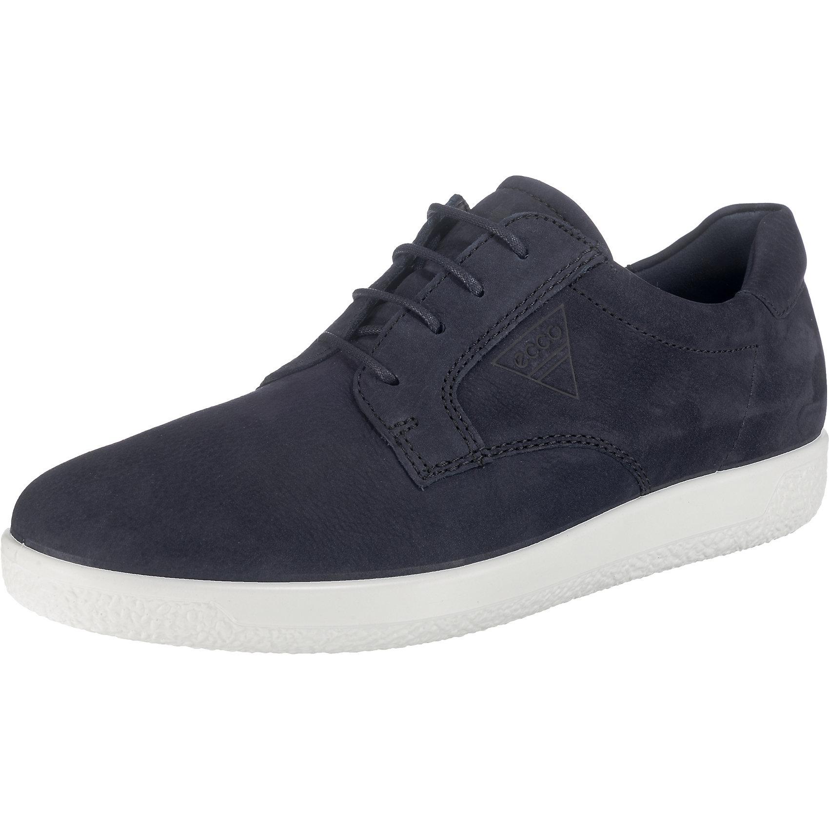 Neu ecco Soft 1 Sneakers Low 7291754 für Herren blau