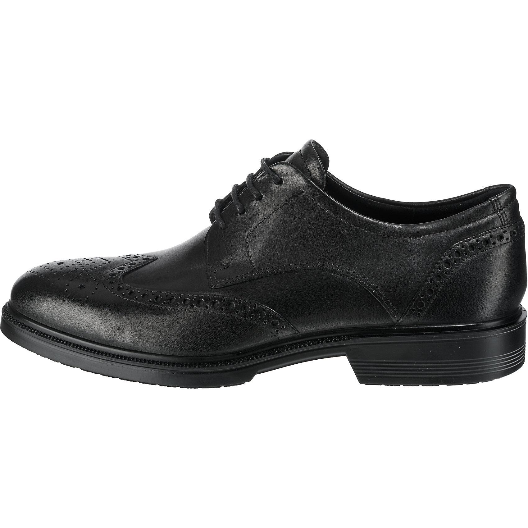 Neu ecco Lisbon Business-Schnürschuhe Herren 7572078 für Herren Business-Schnürschuhe schwarz c54939