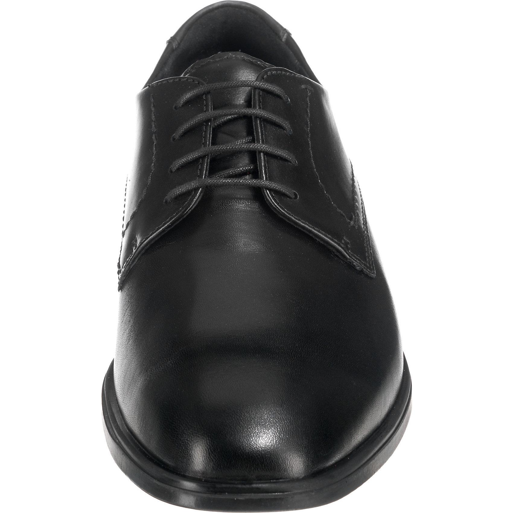 Neu Neu Neu ecco MELBOURNE Business-Schnürschuhe 7572088 für Herren schwarz  13efe2