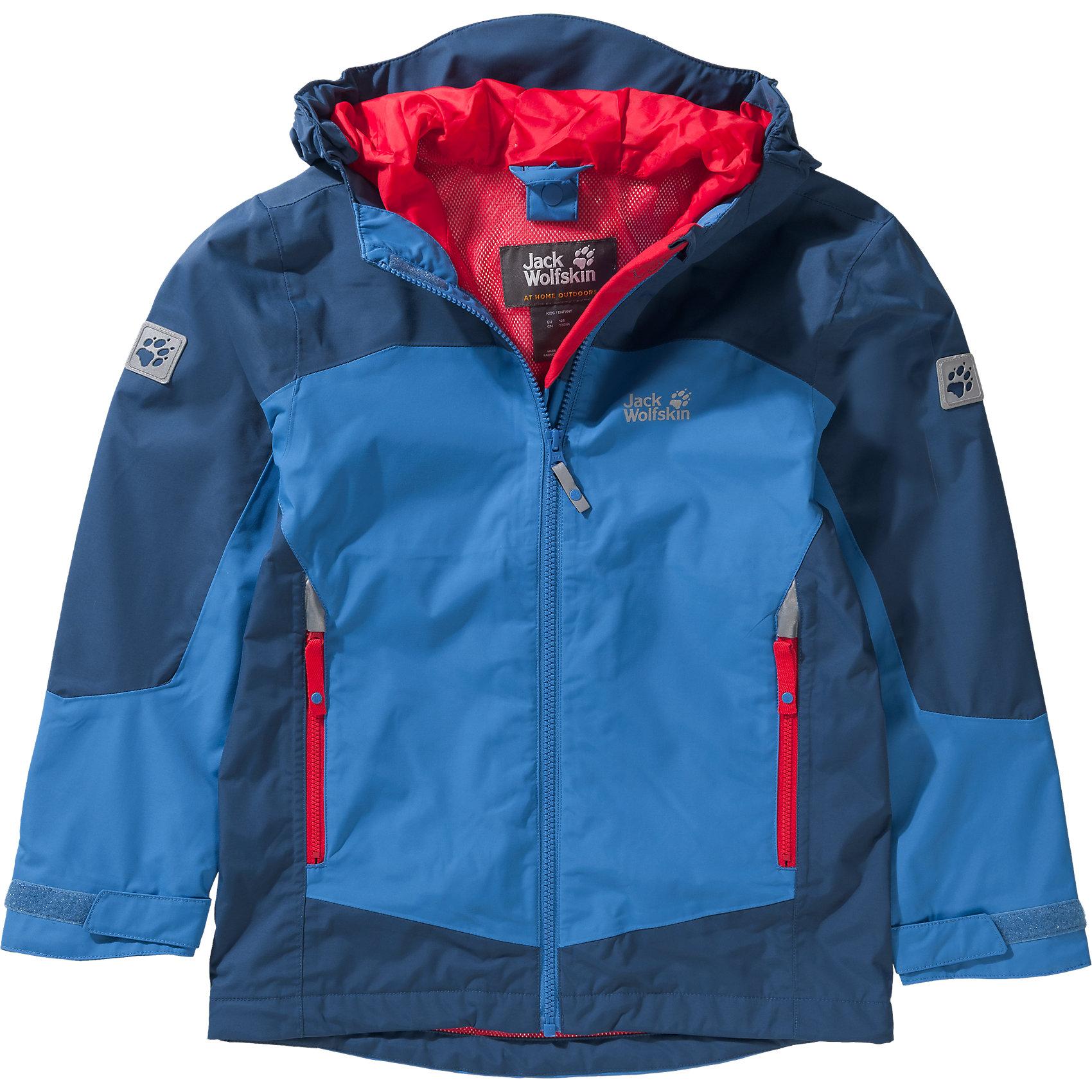 cheap for discount 99b4d bda9b Details zu Neu JACK WOLFSKIN Kinder Outdoorjacke AKKA 7353115 für Jungen  und Mädchen