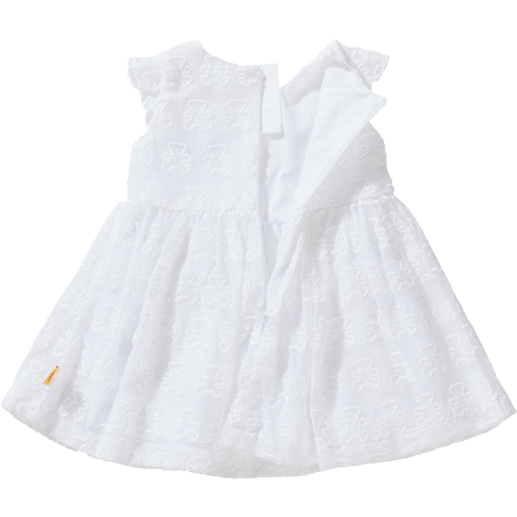 WeißEbay KleidSpitze 7374141 Mädchen Für Baby Neu Steiff wkN8nOP0X