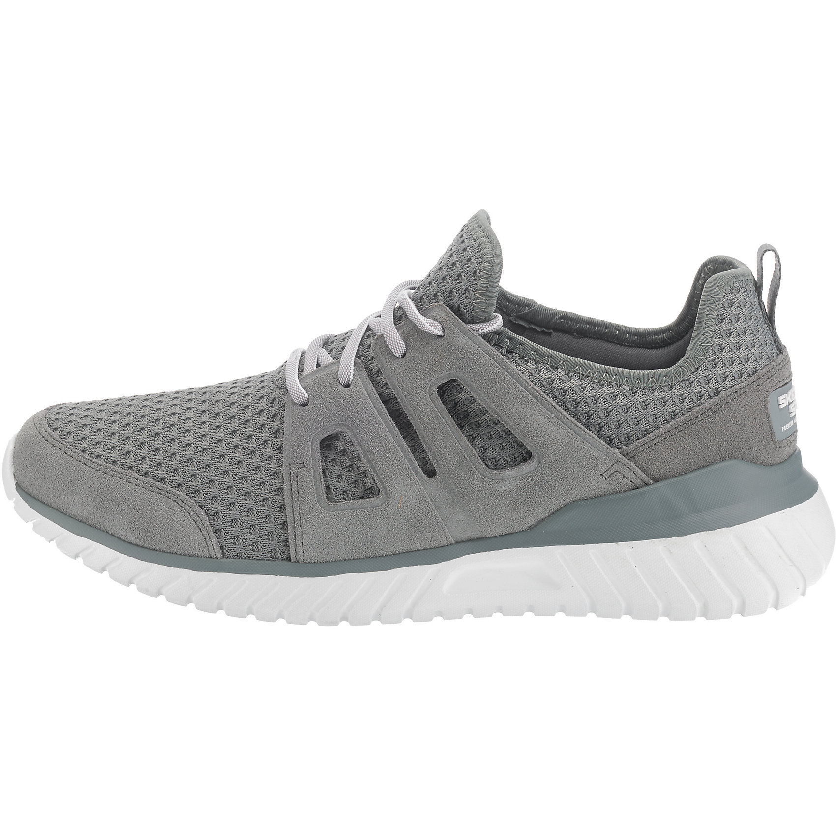 Neu-SKECHERS-Rough-Cut-Sneakers-Low-7385015-fuer-Herren-grau-kombi