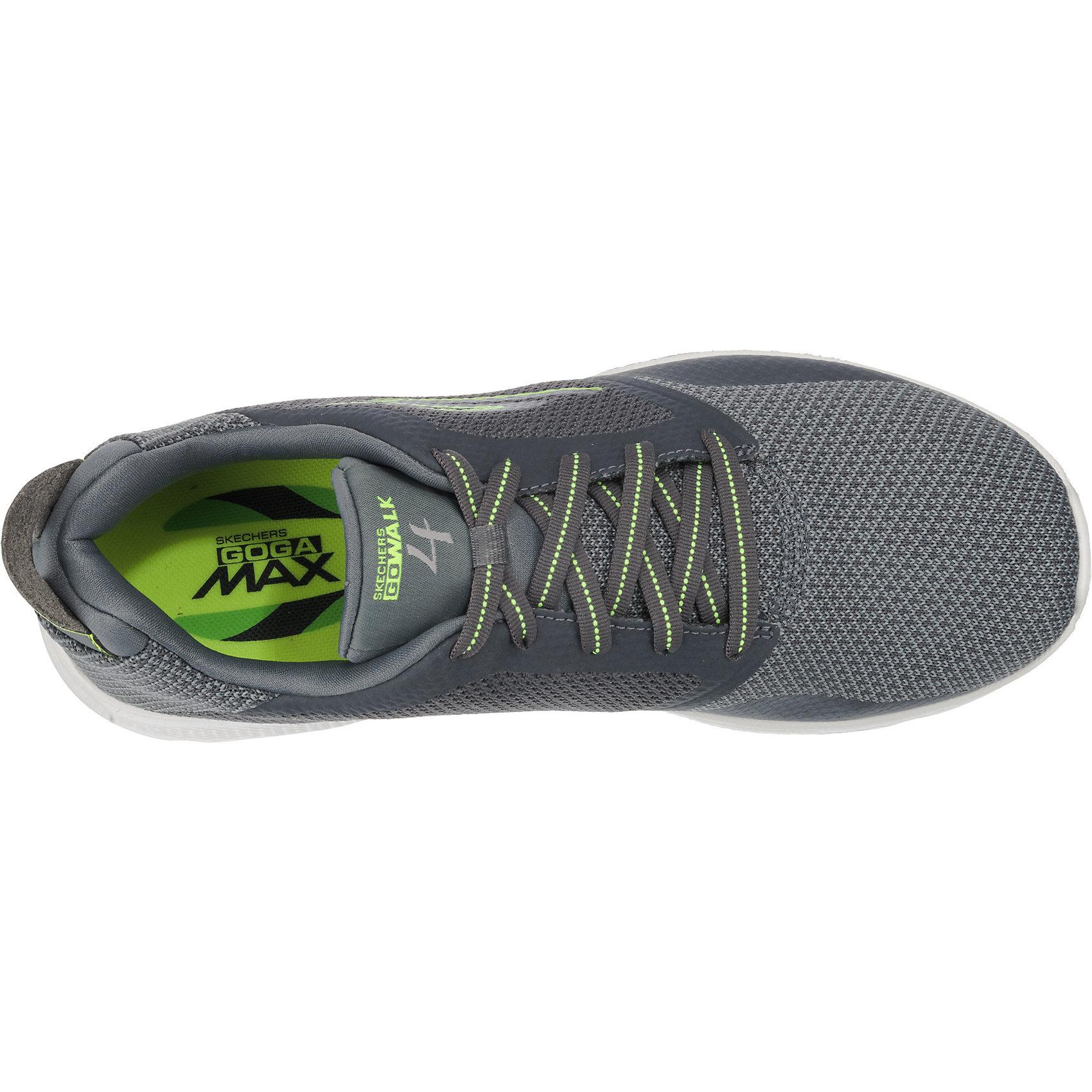 Details zu Neu SKECHERS Go Walk 4 Sneakers Low 7385206 für Herren schwarz