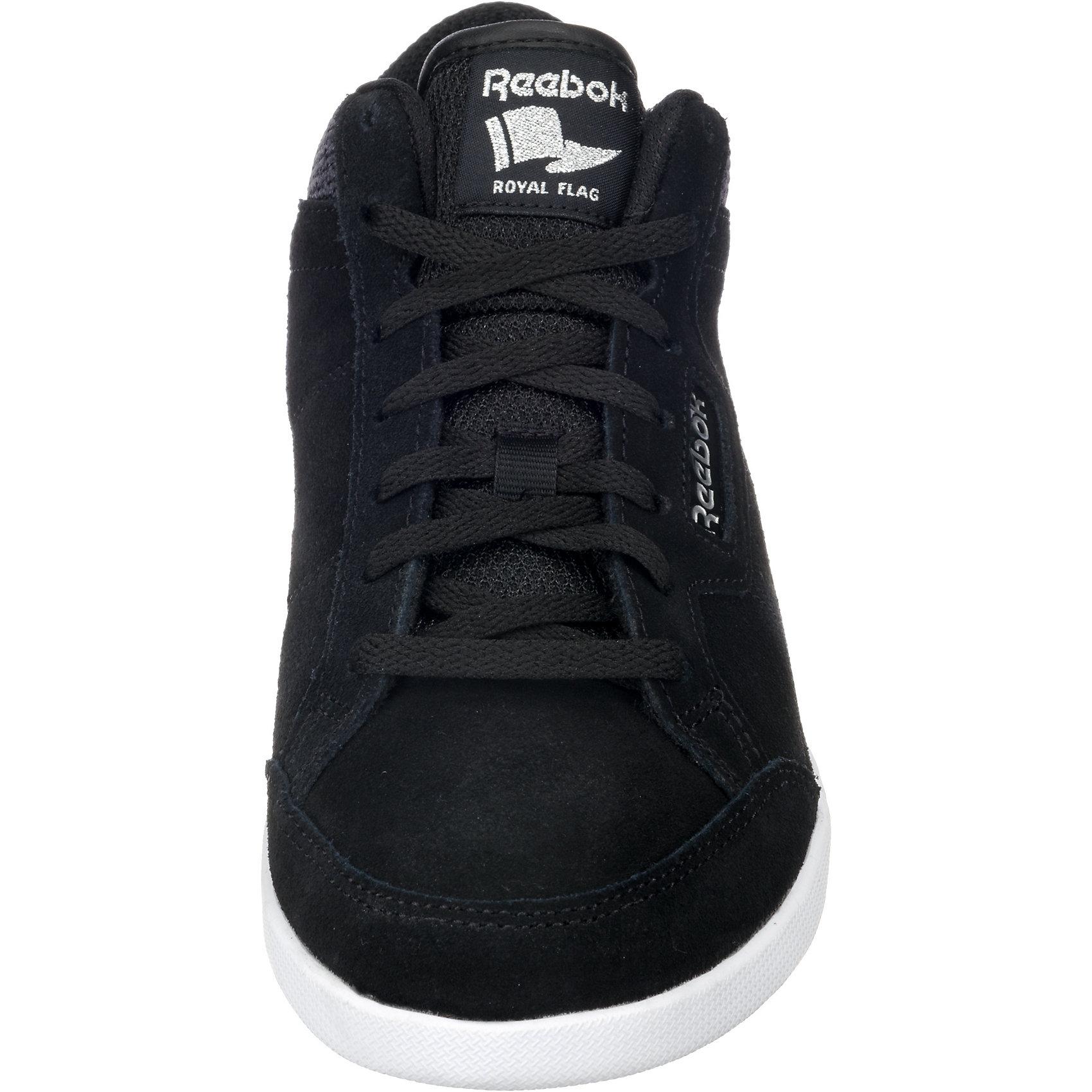 Neu REEBOK ROYAL ANFUSO MS Sneakers Niedrig 7395719 für Damen schwarz schwarz Damen 198393