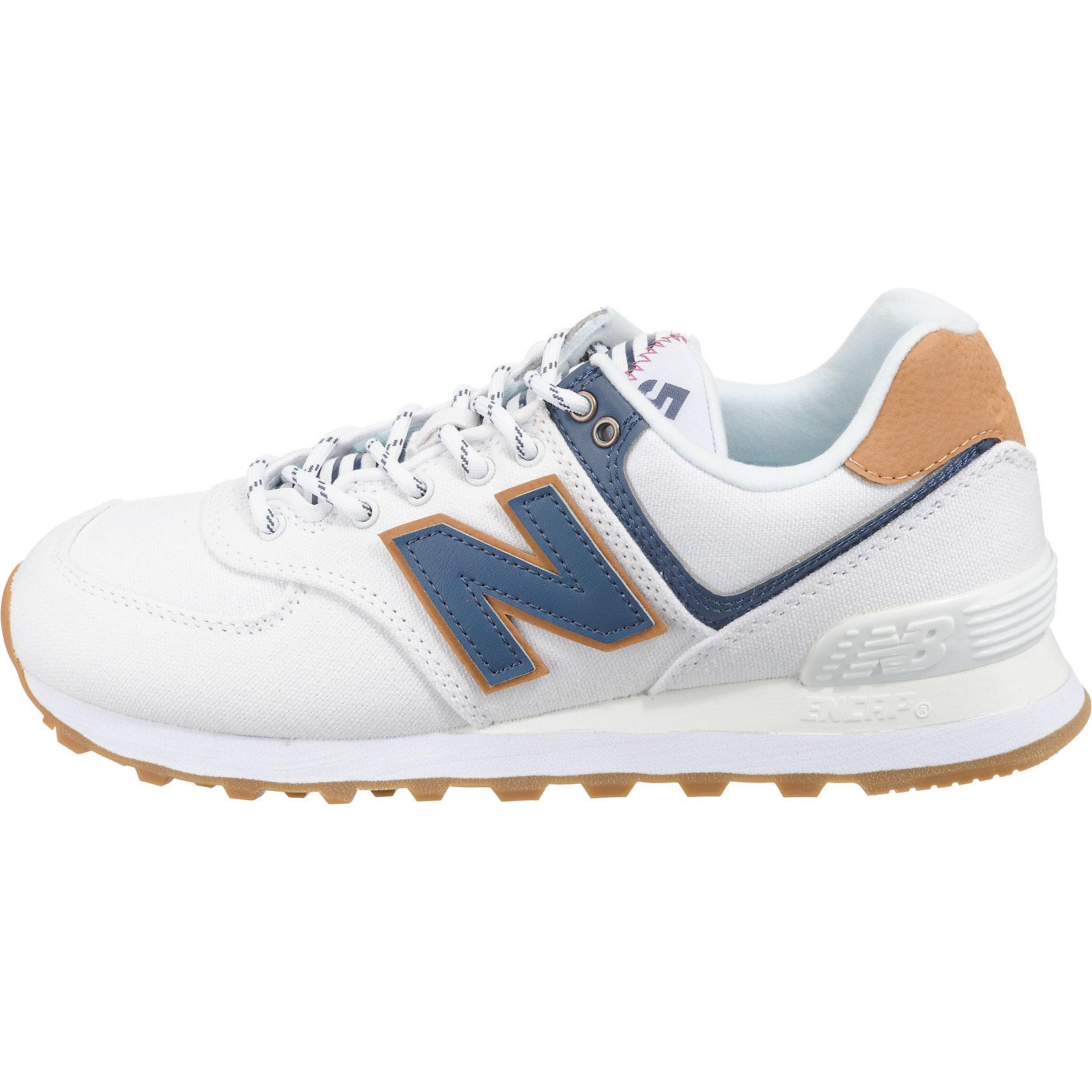 7397638 Blau Für Balance Damen New Neu Wl574 Sneakers Low Weiß B NnwOyvm80P