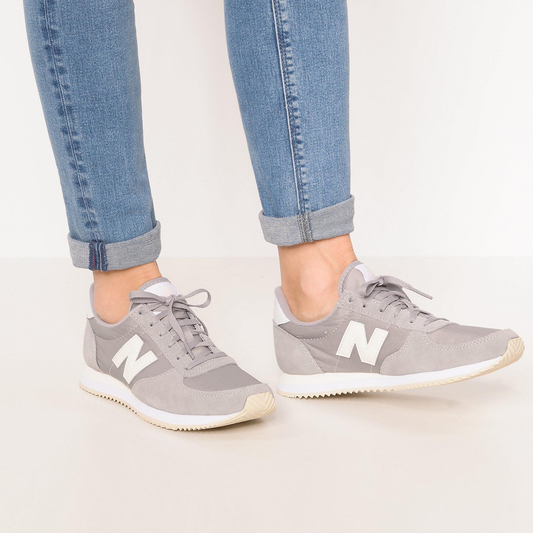 Neu Niedrig new balance WL220 B Sneakers Niedrig Neu 7397926 für Damen grau rosa ea8d99