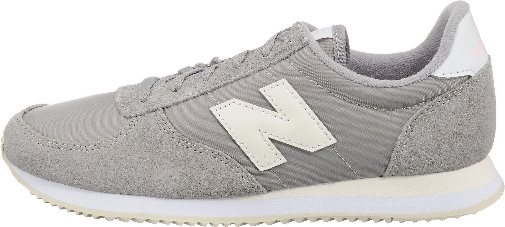Details zu Neu new balance WL220 B Sneakers Low 7397926 für Damen grau