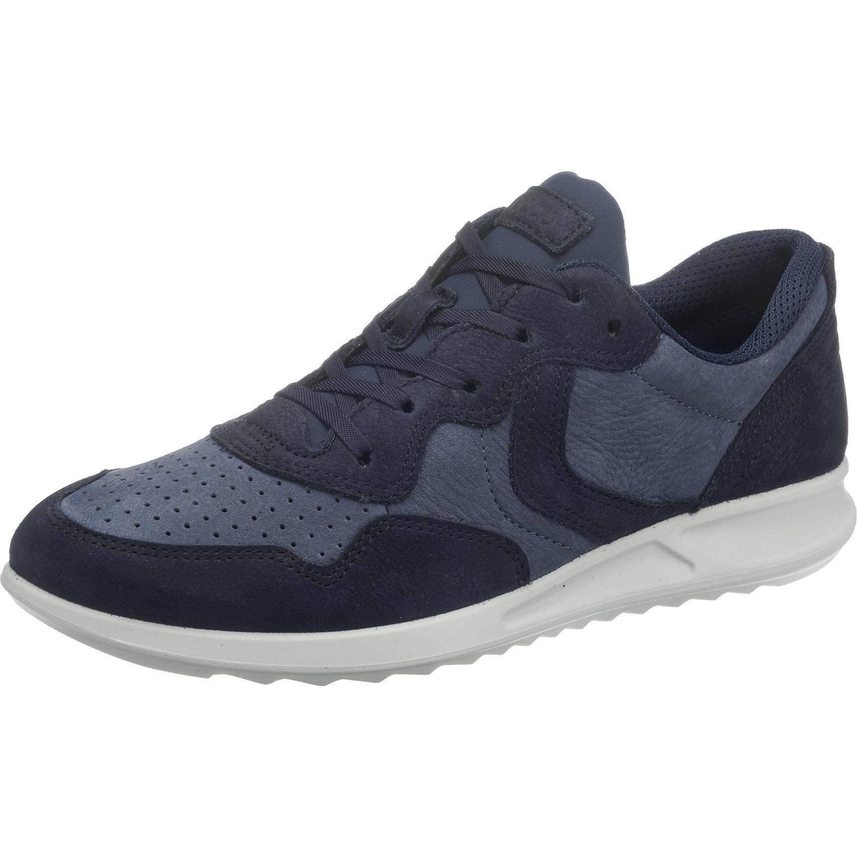 Für Black Neu Damen Soft 7406748 5 Feather Low Sneakers Blau Ecco 8q8Orxf