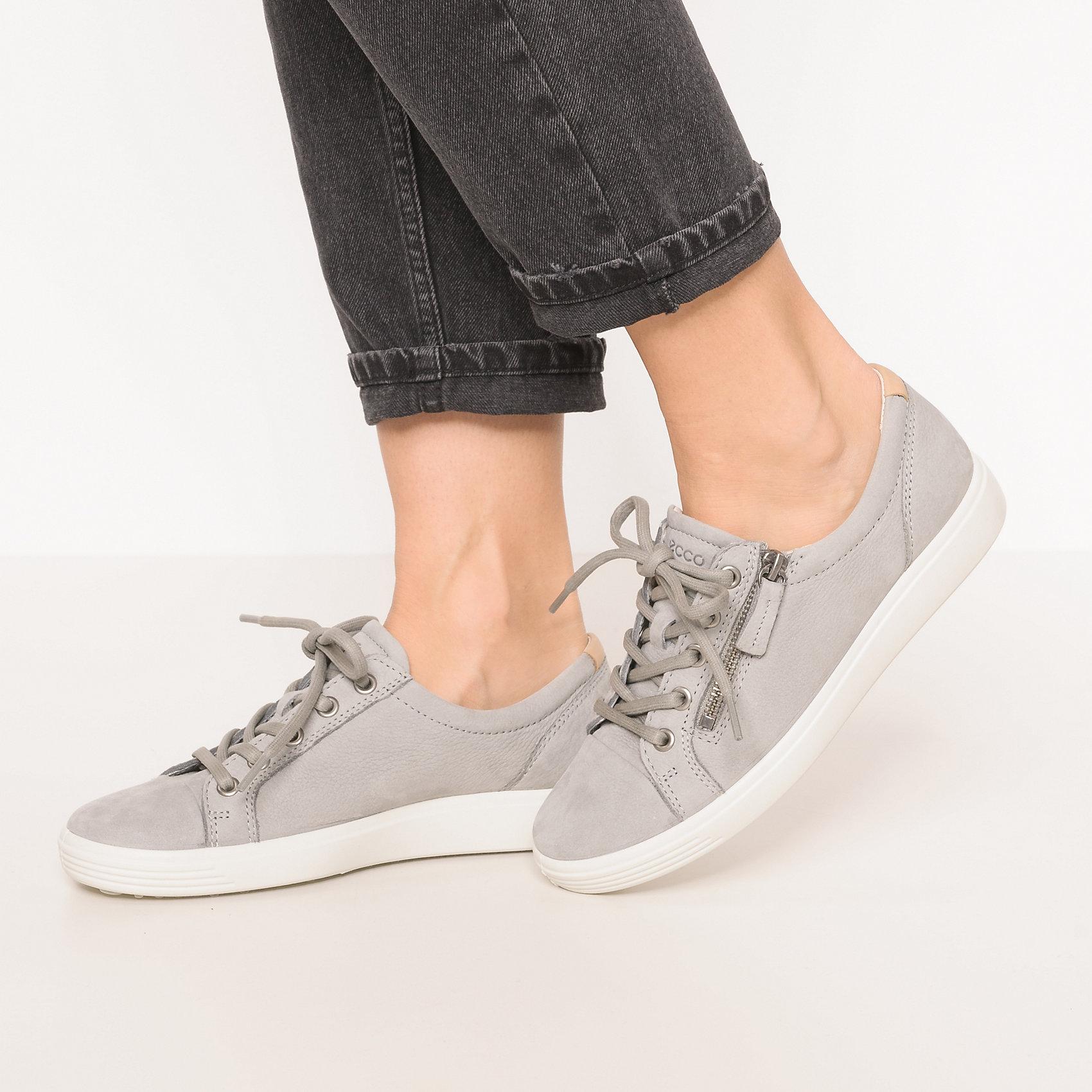 ECCO Sneakers 'Soft 1 White Droid' grau H5jk2D7EWM