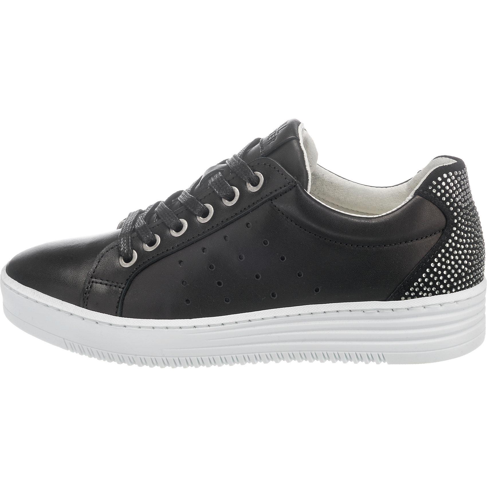 Neu BULLBOXER Sneakers Niedrig 7409442 7409442 Niedrig für Damen schwarz weiß ae8f11
